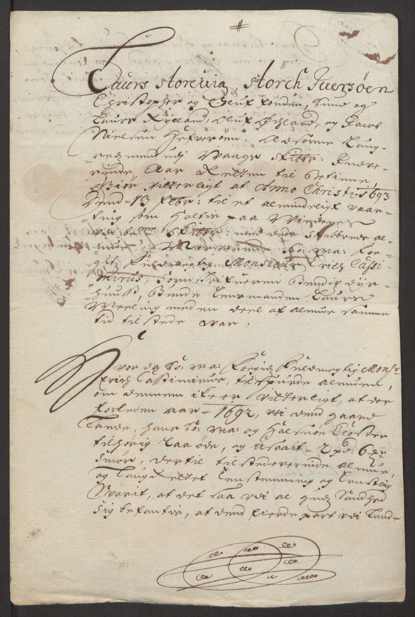 RA, Rentekammeret inntil 1814, Reviderte regnskaper, Fogderegnskap, R48/L2973: Fogderegnskap Sunnhordland og Hardanger, 1691-1692, s. 437