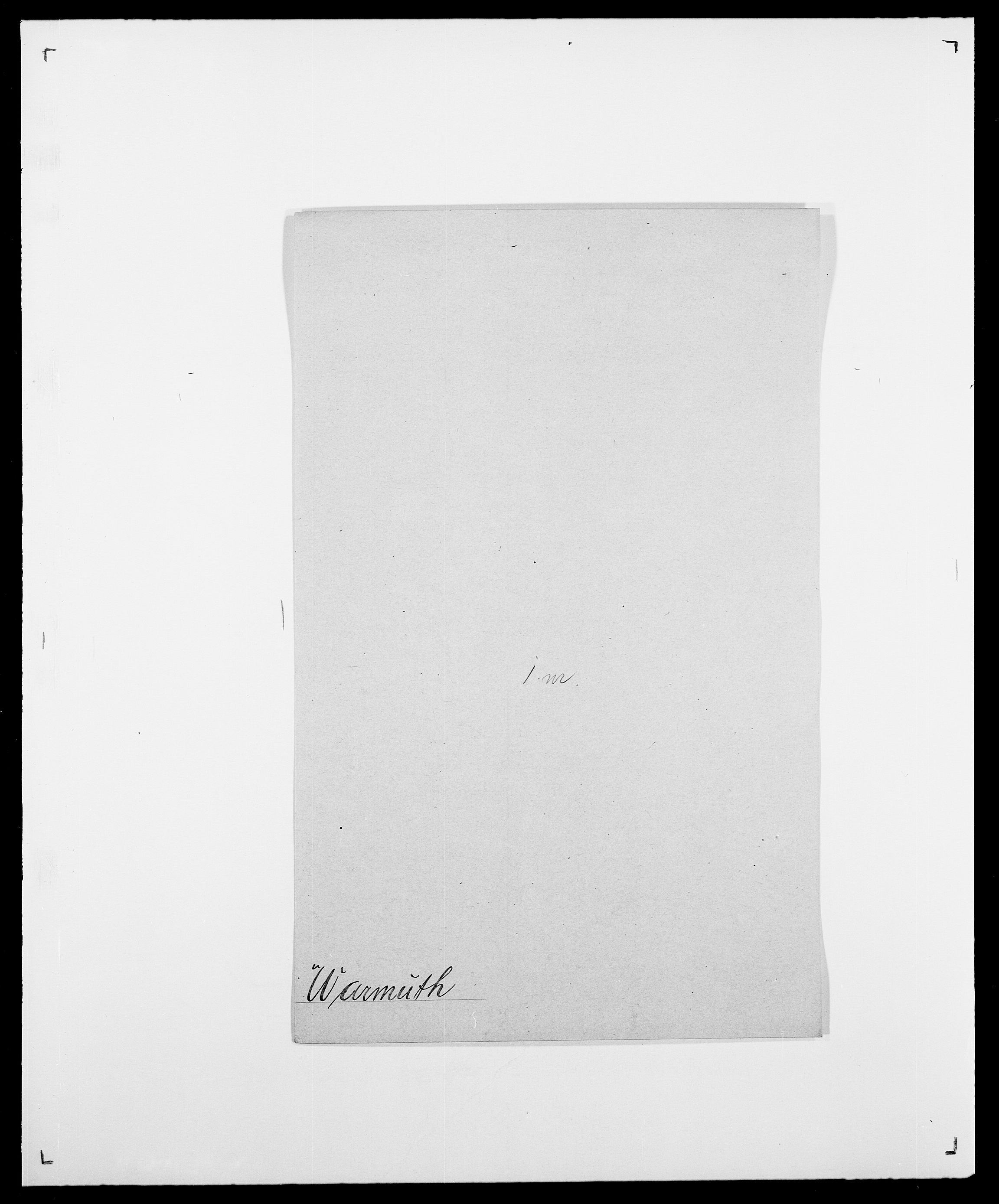 SAO, Delgobe, Charles Antoine - samling, D/Da/L0040: Usgaard - Velund, s. 328