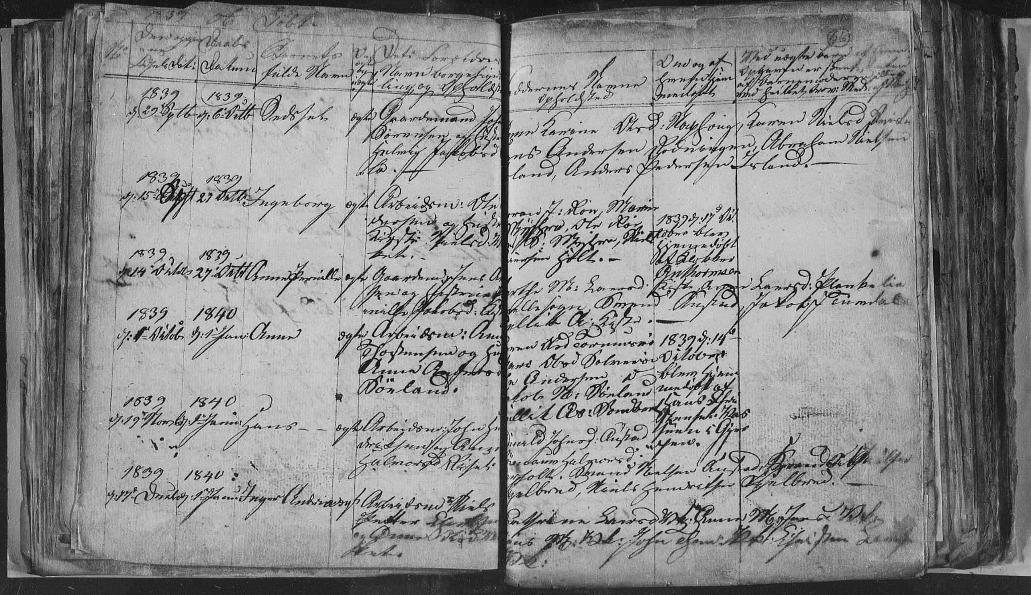 SAKO, Siljan kirkebøker, G/Ga/L0001: Klokkerbok nr. 1, 1827-1847, s. 66