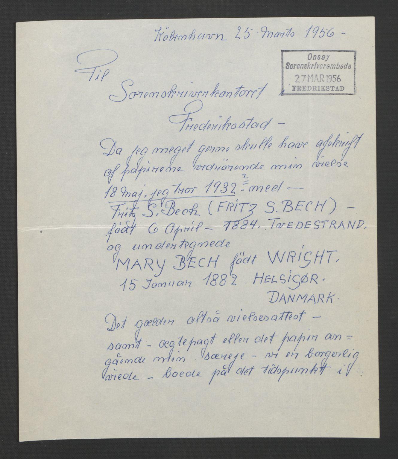 SAO, Fredrikstad byfogd, L/Lc/L0001: Vigselsbok, 1920-1937, s. upaginert