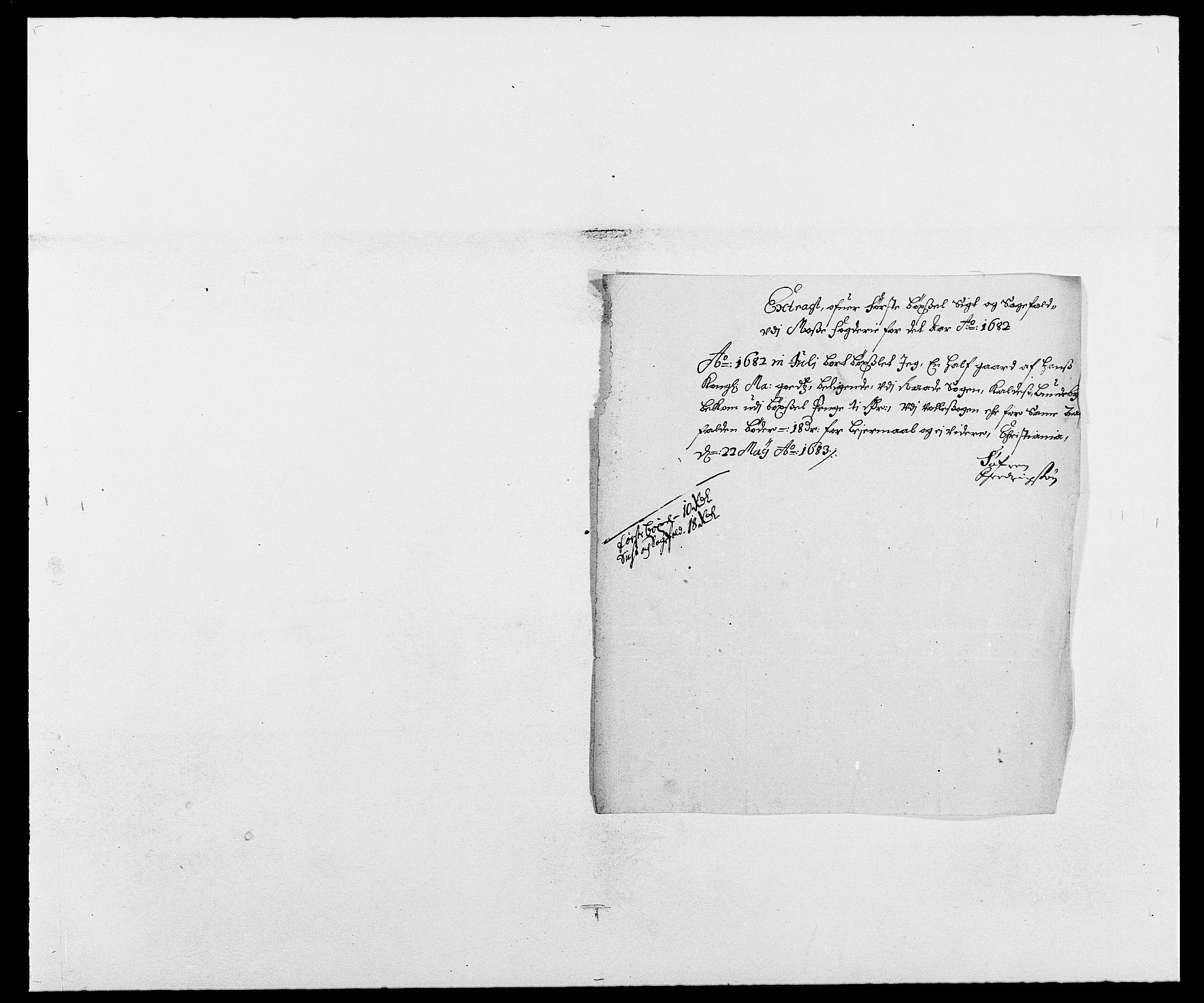 RA, Rentekammeret inntil 1814, Reviderte regnskaper, Fogderegnskap, R02/L0103: Fogderegnskap Moss og Verne kloster, 1682-1684, s. 114