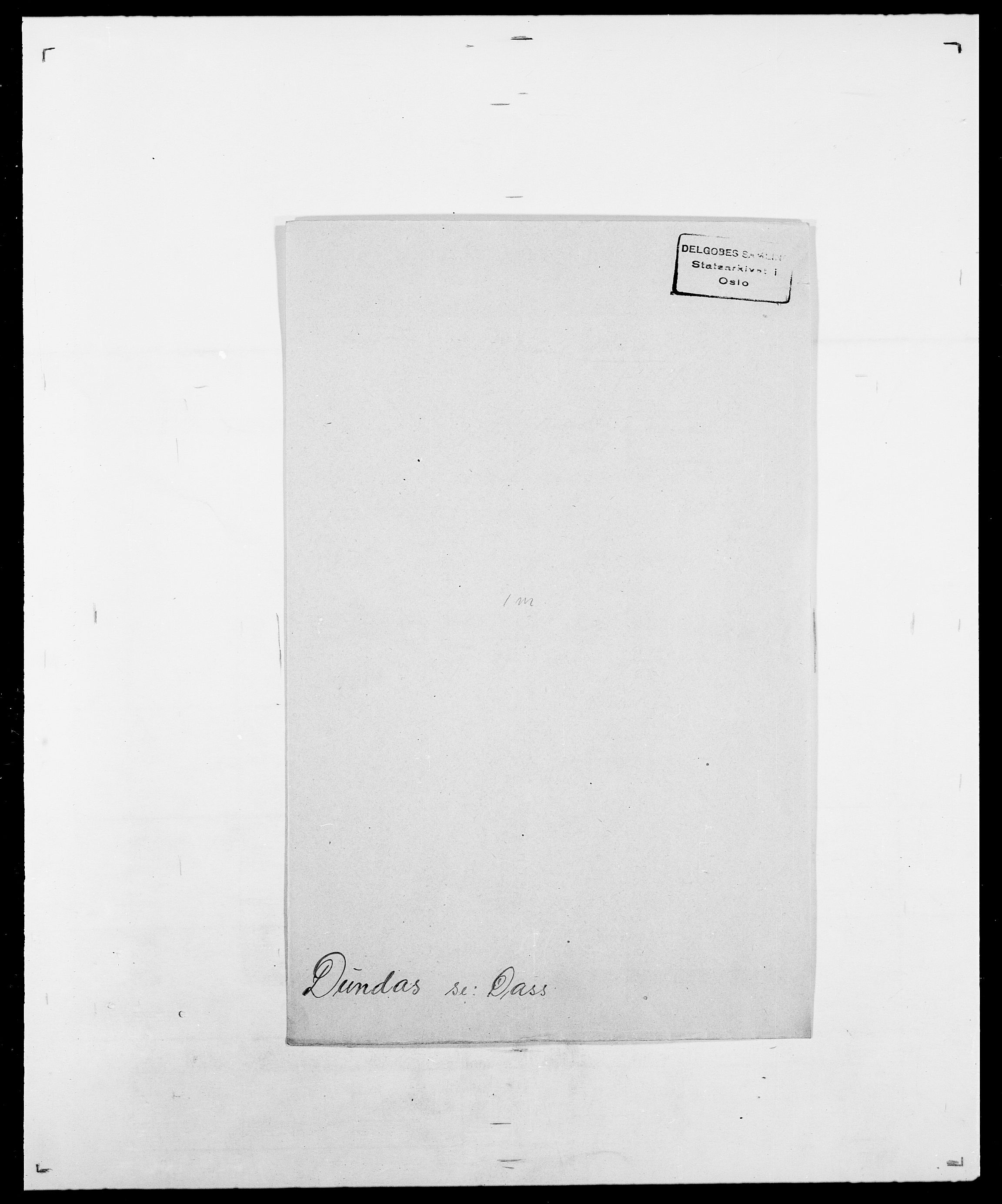 SAO, Delgobe, Charles Antoine - samling, D/Da/L0009: Dahl - v. Düren, s. 840