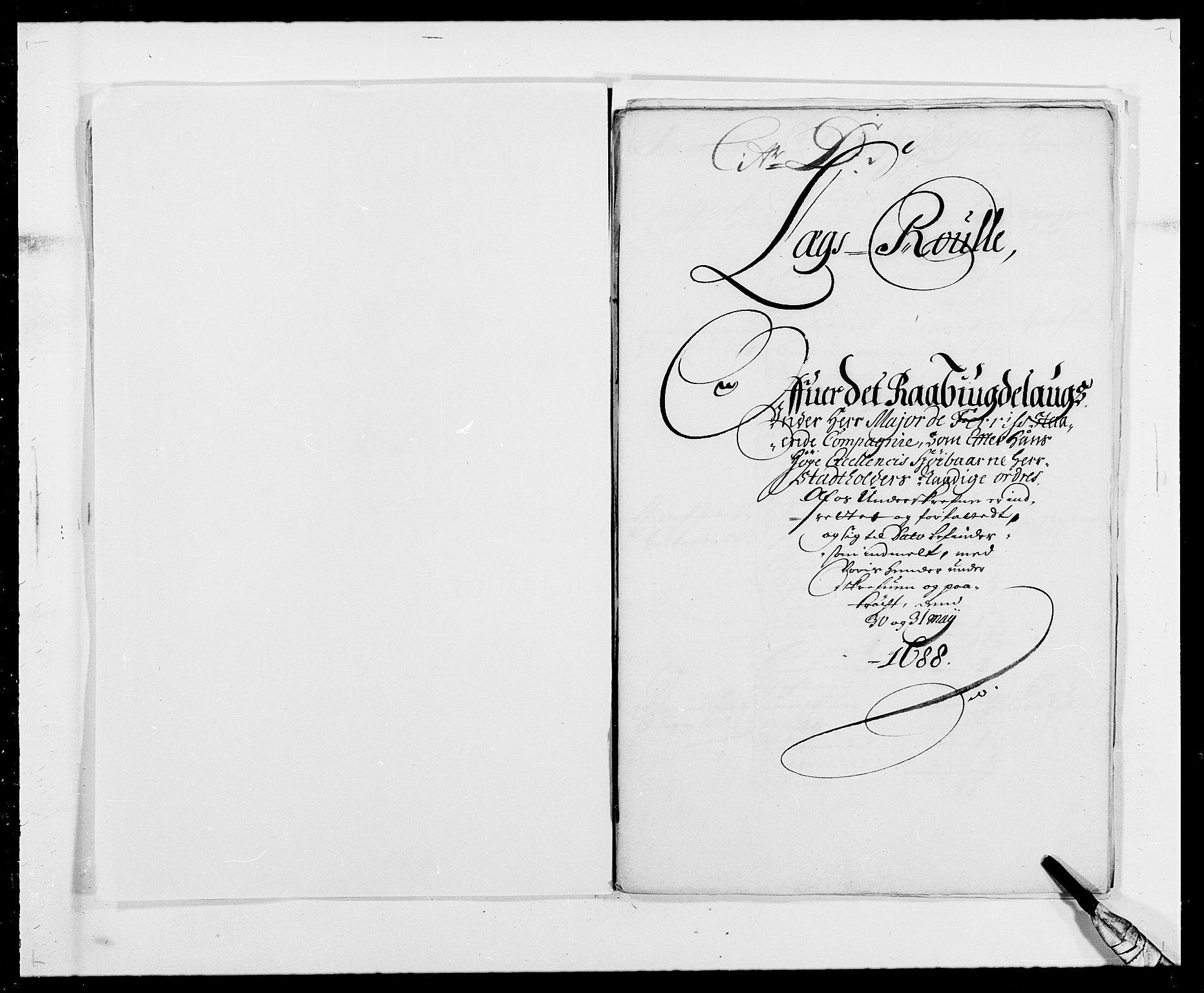RA, Rentekammeret inntil 1814, Reviderte regnskaper, Fogderegnskap, R40/L2442: Fogderegnskap Råbyggelag, 1689-1690, s. 58