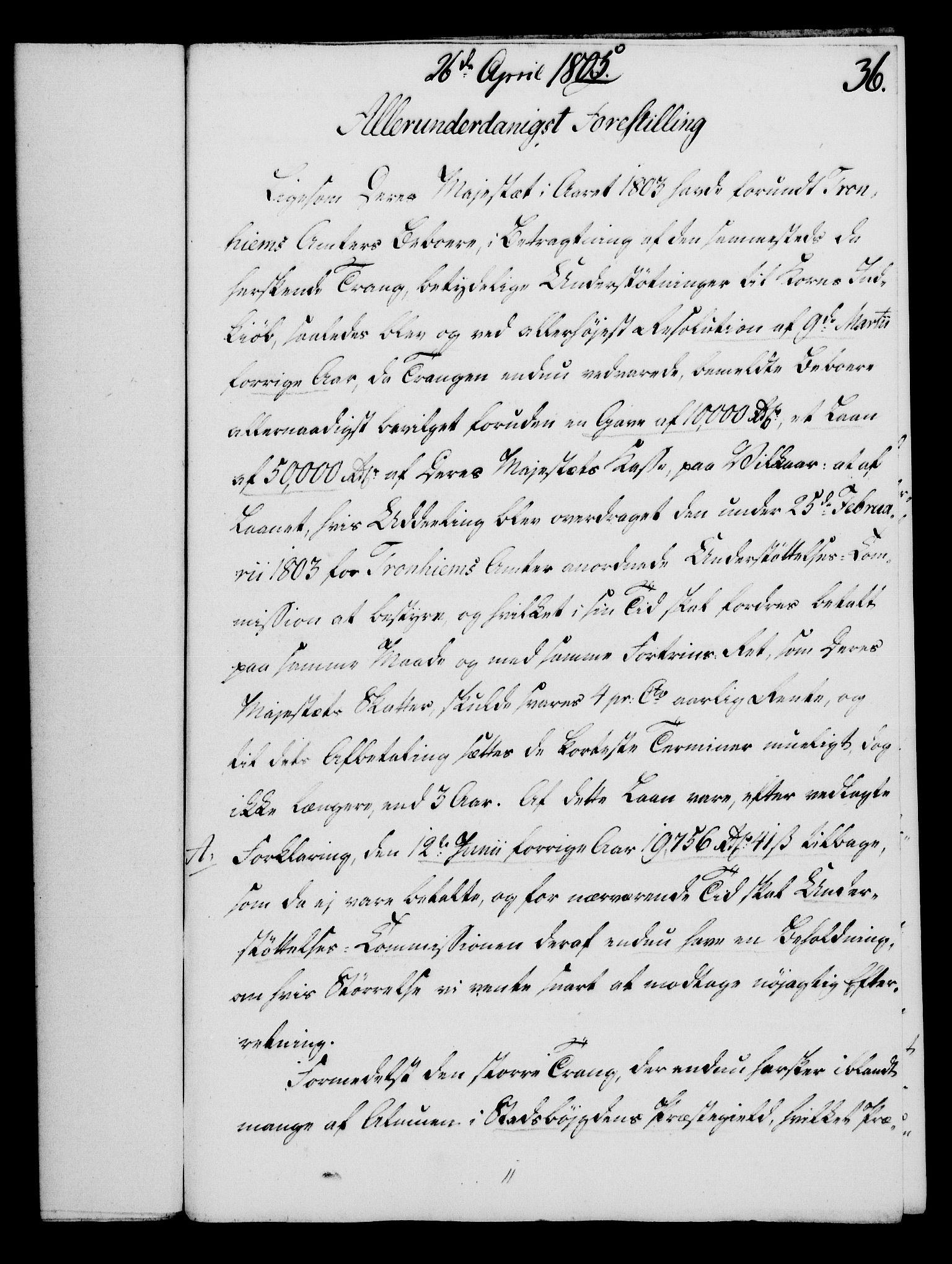 RA, Rentekammeret, Kammerkanselliet, G/Gf/Gfa/L0087: Norsk relasjons- og resolusjonsprotokoll (merket RK 52.87), 1805, s. 202