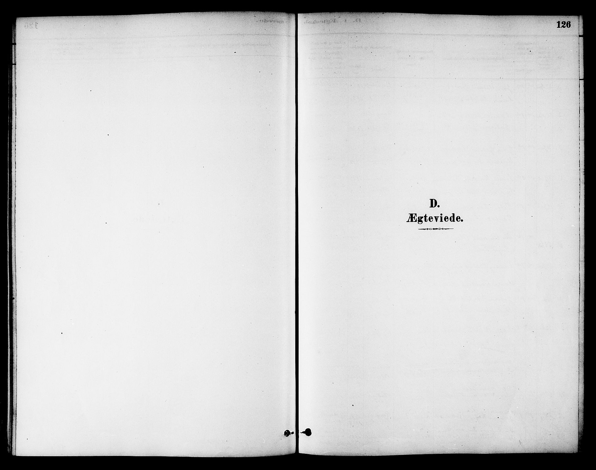 SAT, Ministerialprotokoller, klokkerbøker og fødselsregistre - Nord-Trøndelag, 784/L0672: Ministerialbok nr. 784A07, 1880-1887, s. 126