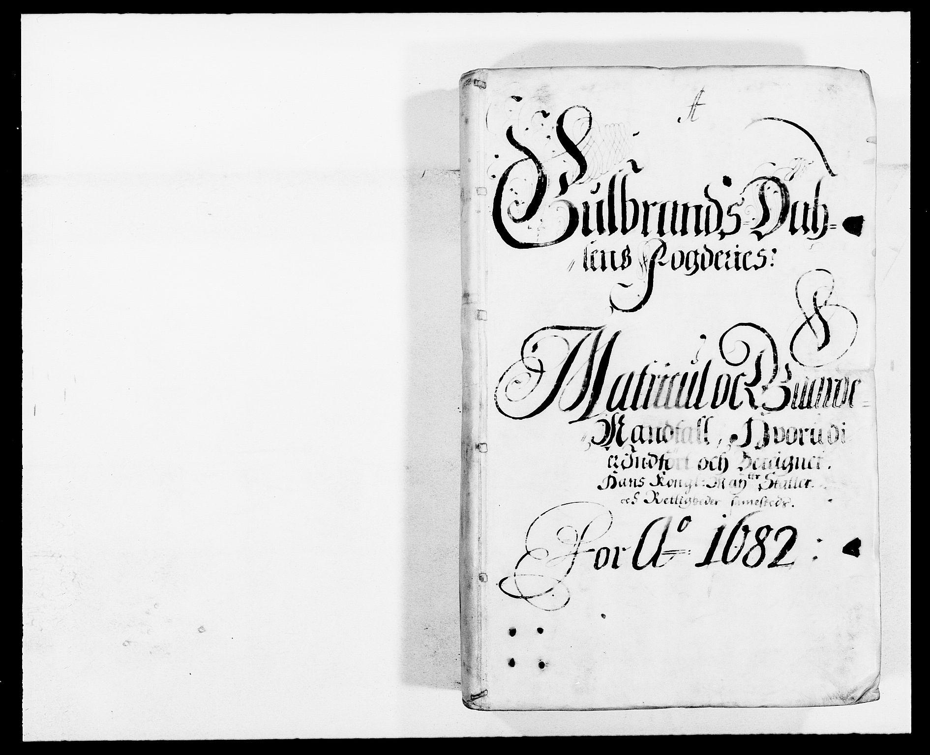 RA, Rentekammeret inntil 1814, Reviderte regnskaper, Fogderegnskap, R17/L1157: Fogderegnskap Gudbrandsdal, 1682-1689, s. 57