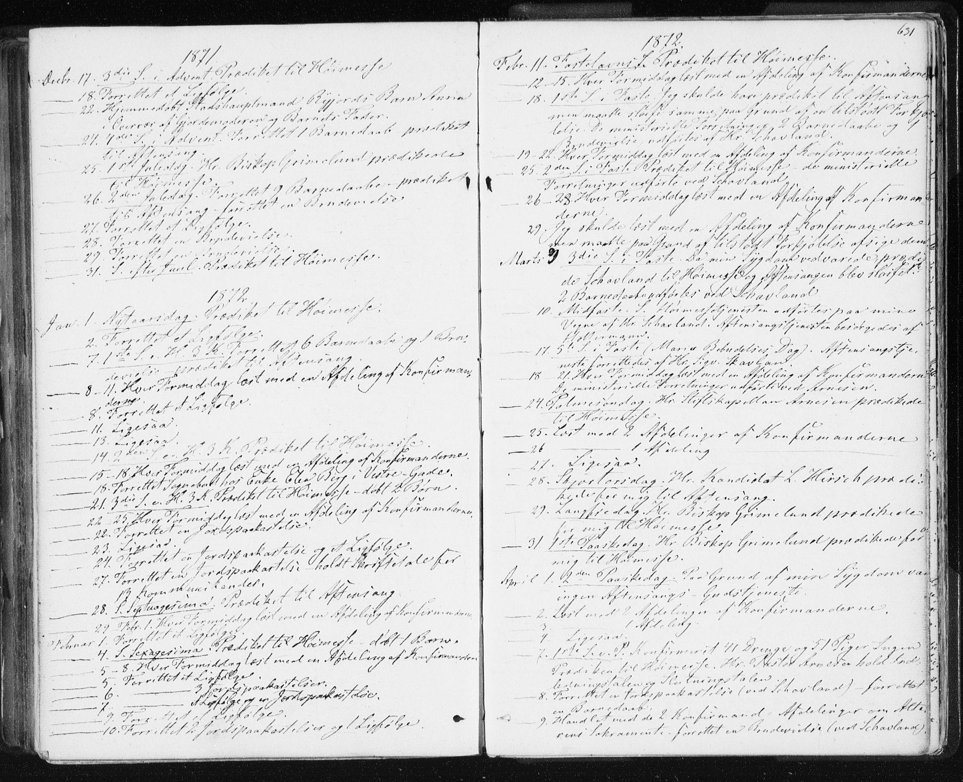 SAT, Ministerialprotokoller, klokkerbøker og fødselsregistre - Sør-Trøndelag, 601/L0055: Ministerialbok nr. 601A23, 1866-1877, s. 631
