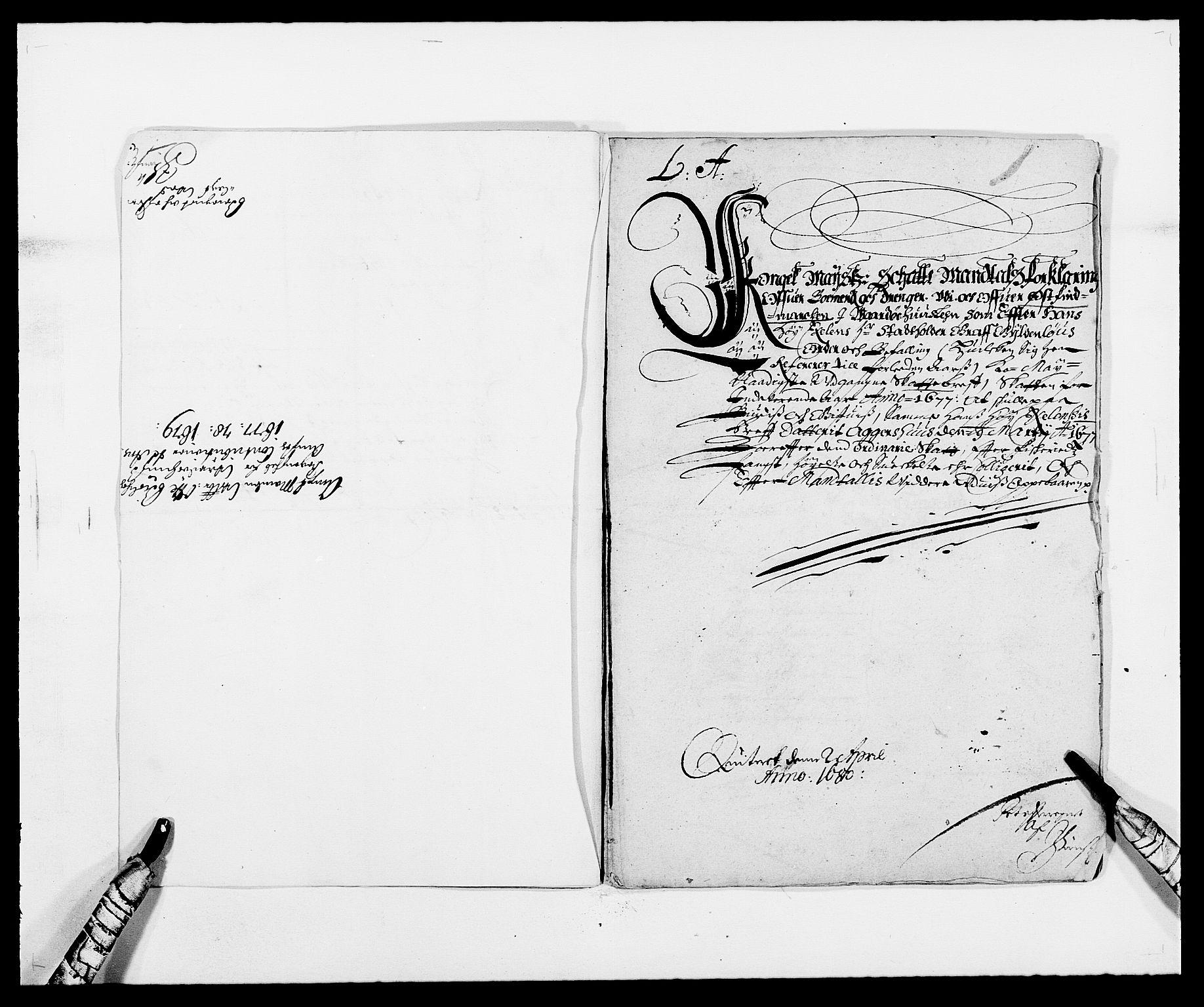 RA, Rentekammeret inntil 1814, Reviderte regnskaper, Fogderegnskap, R69/L4849: Fogderegnskap Finnmark/Vardøhus, 1661-1679, s. 377