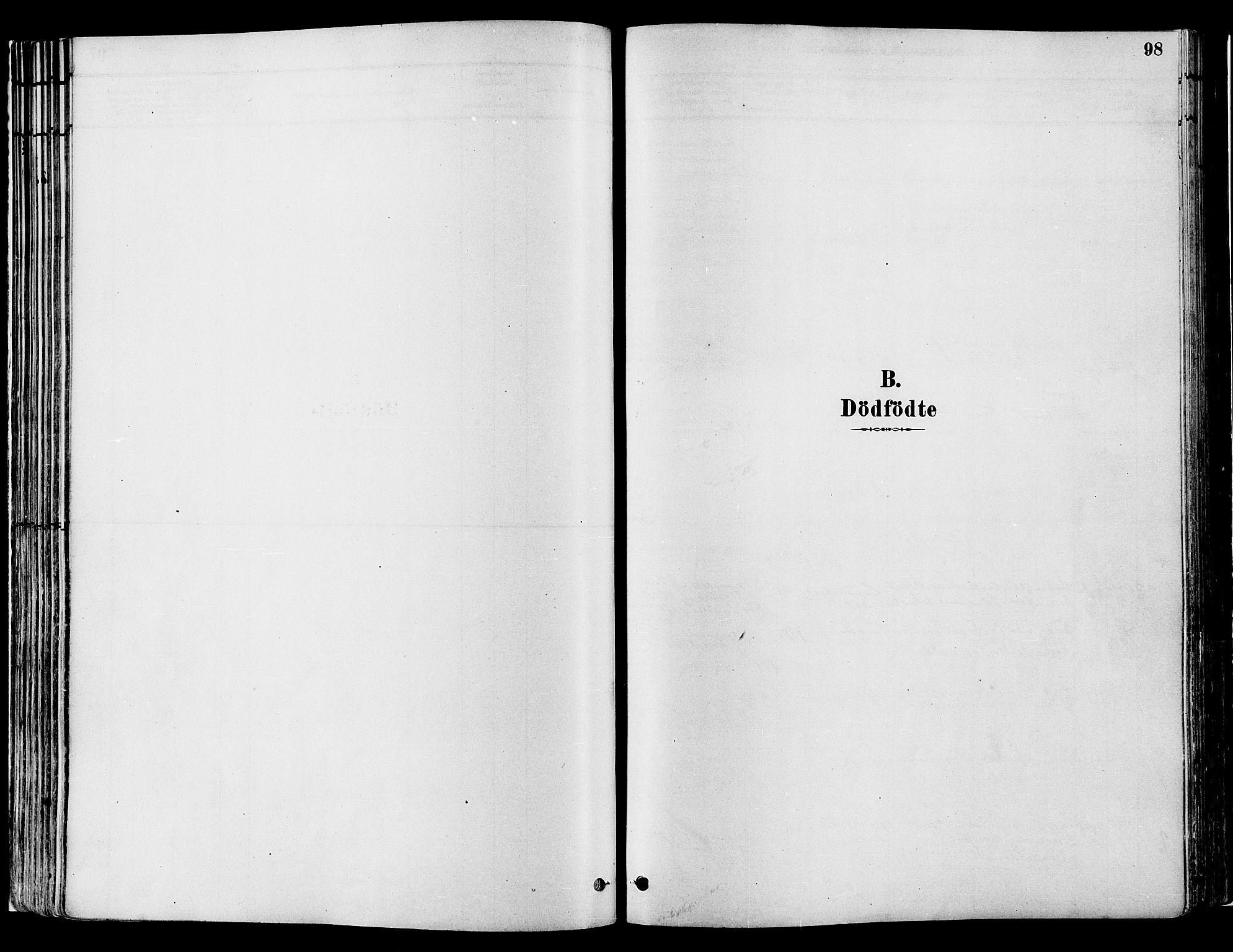SAH, Gran prestekontor, Ministerialbok nr. 14, 1880-1889, s. 98