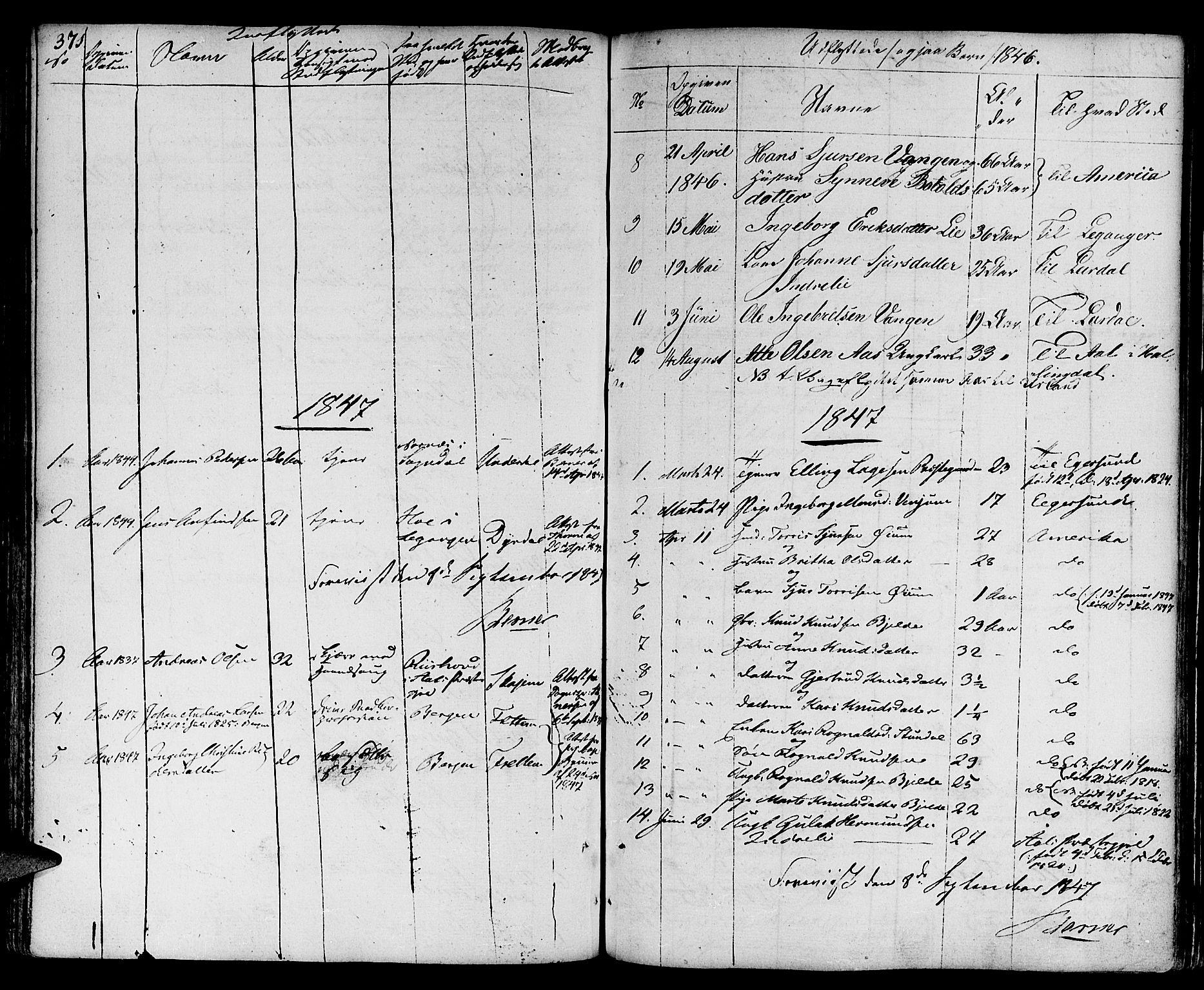 SAB, Aurland Sokneprestembete*, Ministerialbok nr. A 6, 1821-1859, s. 371