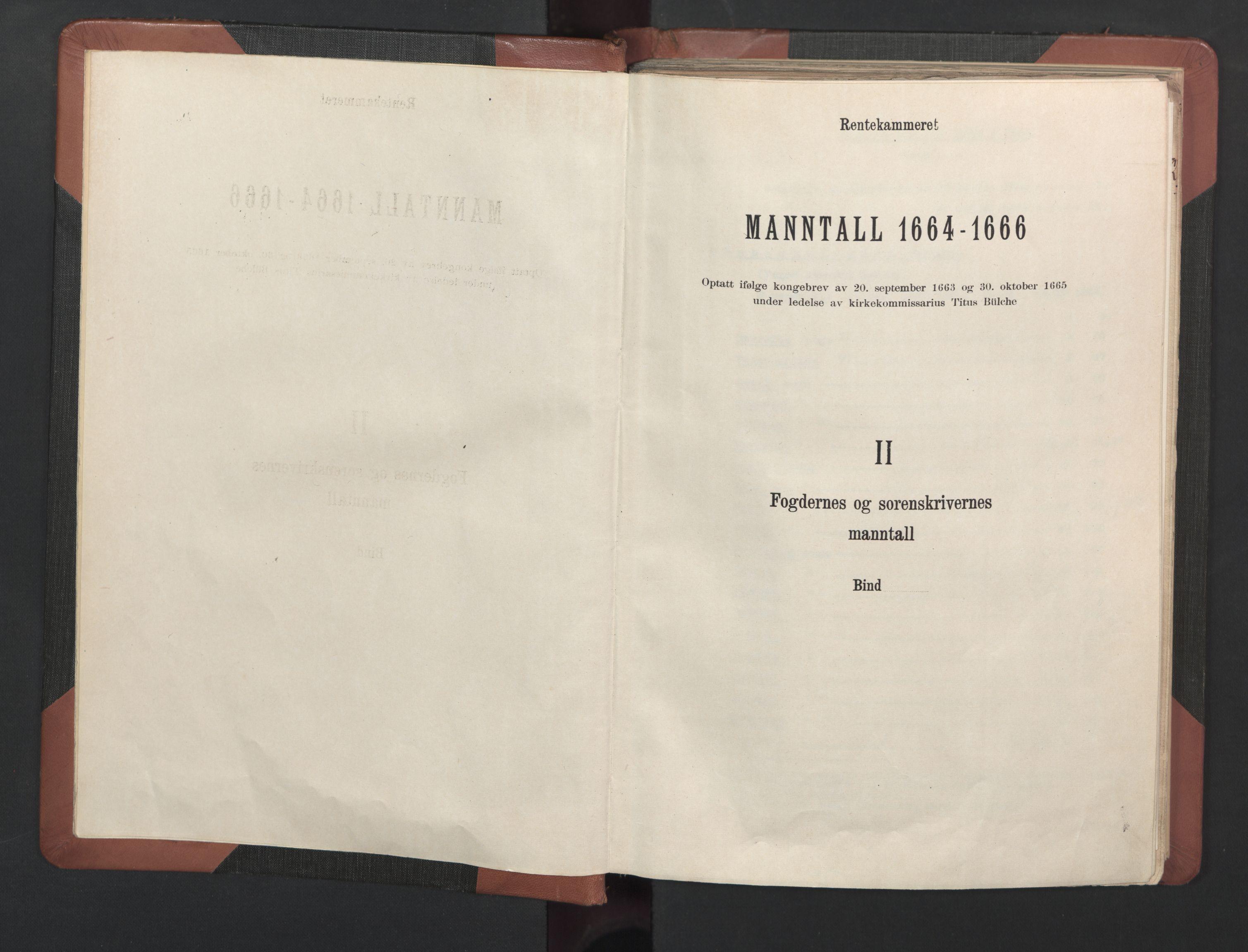 RA, Fogdenes og sorenskrivernes manntall 1664-1666, nr. 8: Råbyggelaget fogderi, 1664-1665, s. upaginert