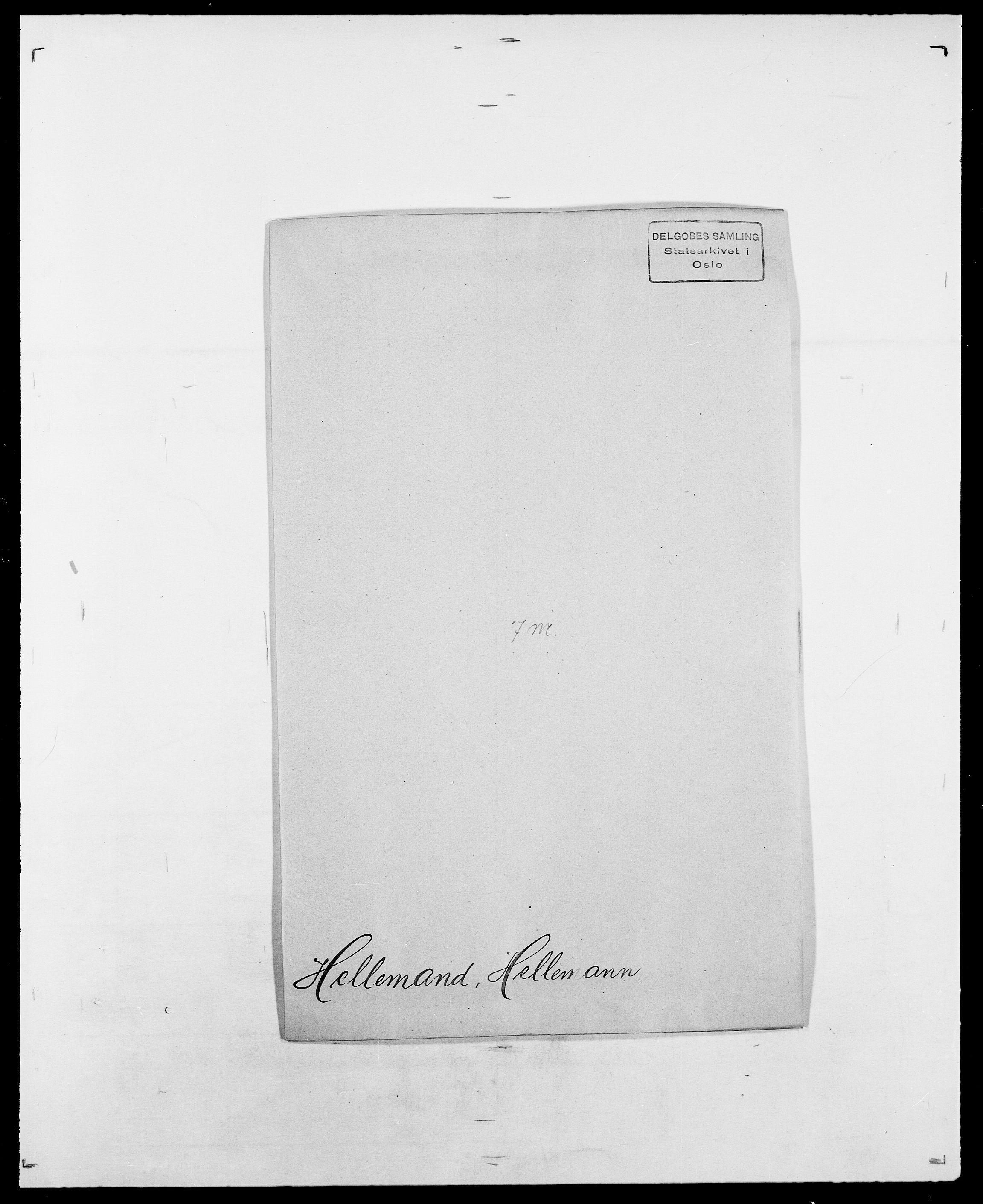 SAO, Delgobe, Charles Antoine - samling, D/Da/L0017: Helander - Hjørne, s. 52