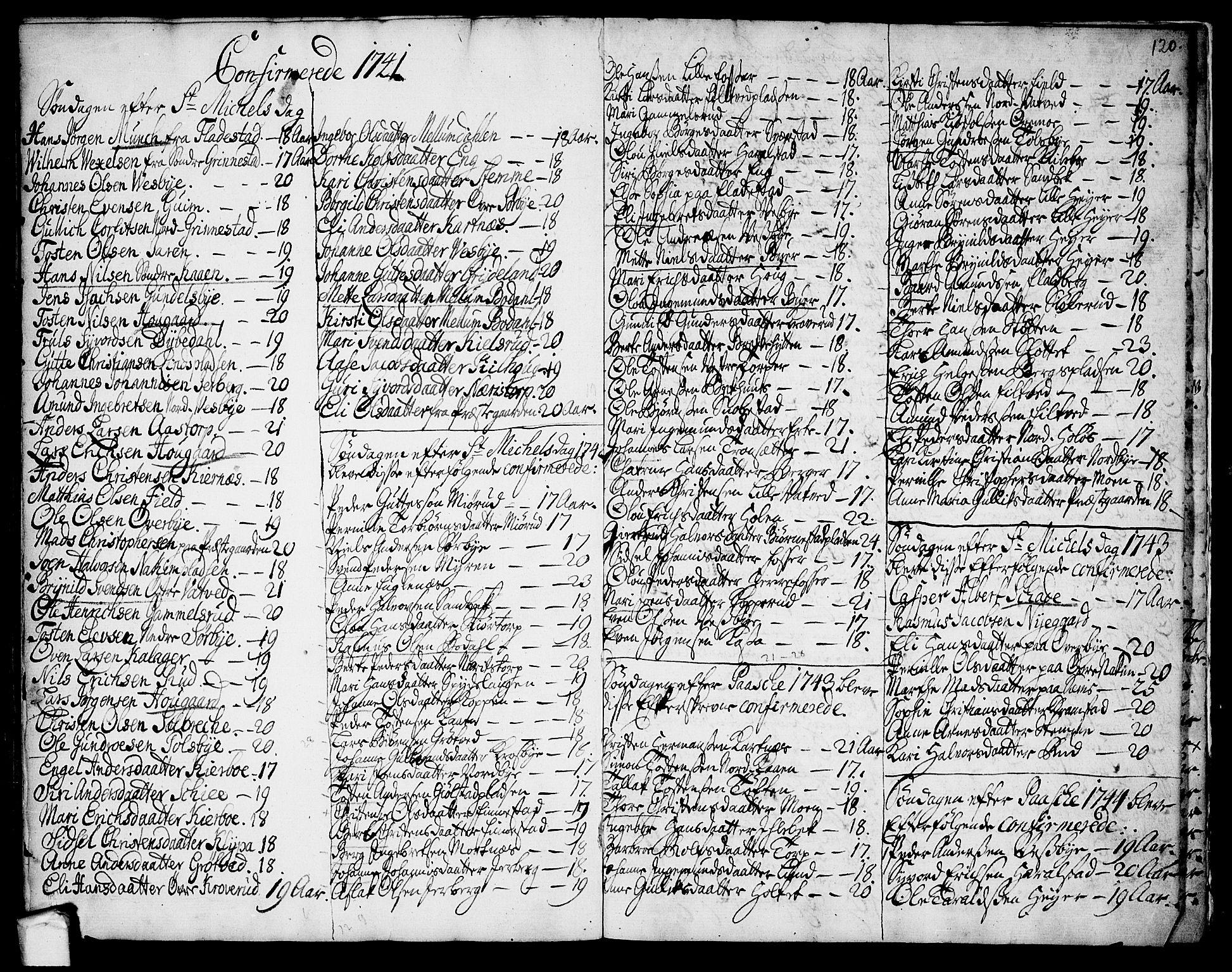 SAO, Rakkestad prestekontor Kirkebøker, F/Fa/L0002: Ministerialbok nr. I 2, 1741-1751, s. 120