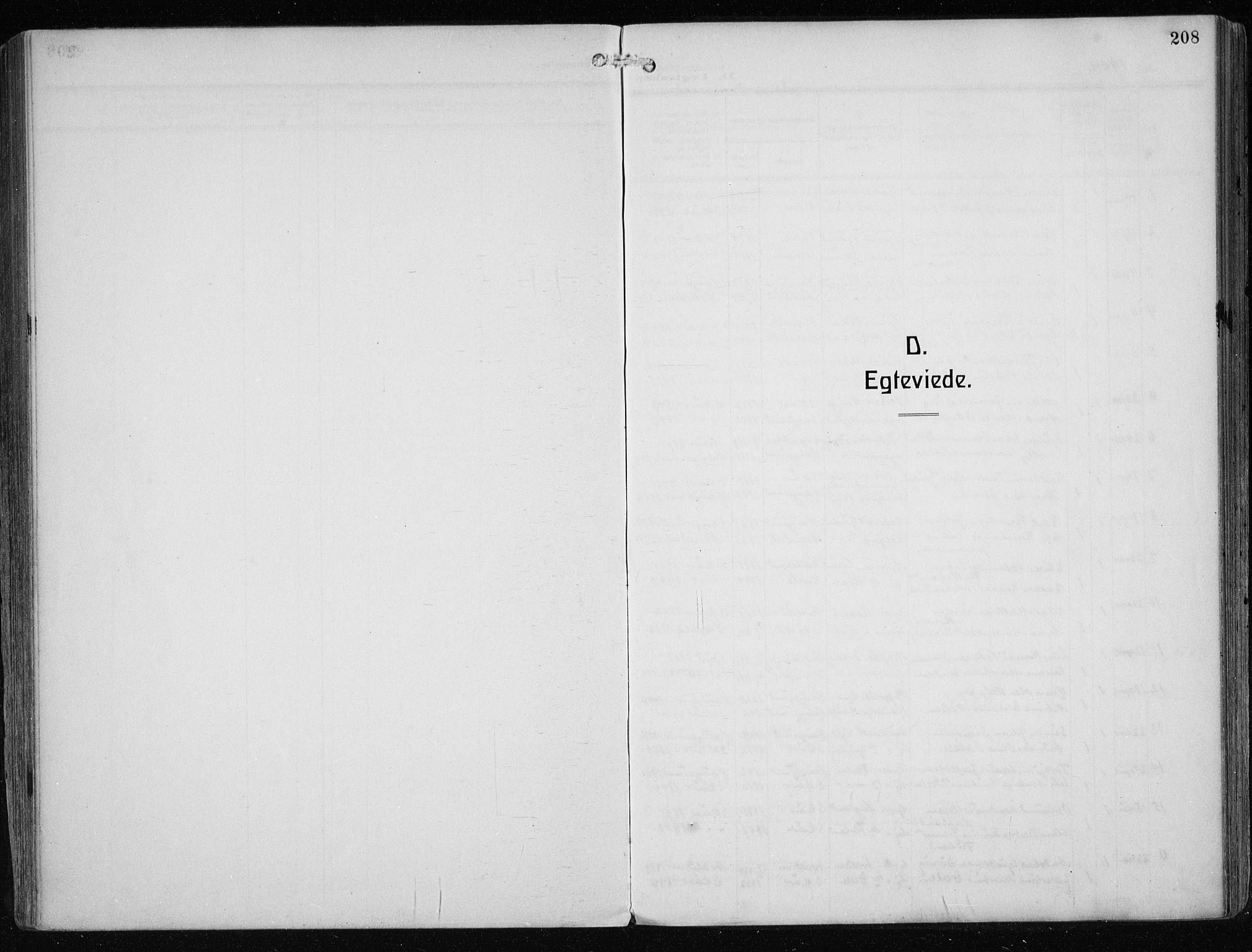 SAST, Haugesund sokneprestkontor, H/Ha/Haa/L0010: Ministerialbok nr. A 10, 1909-1935, s. 208