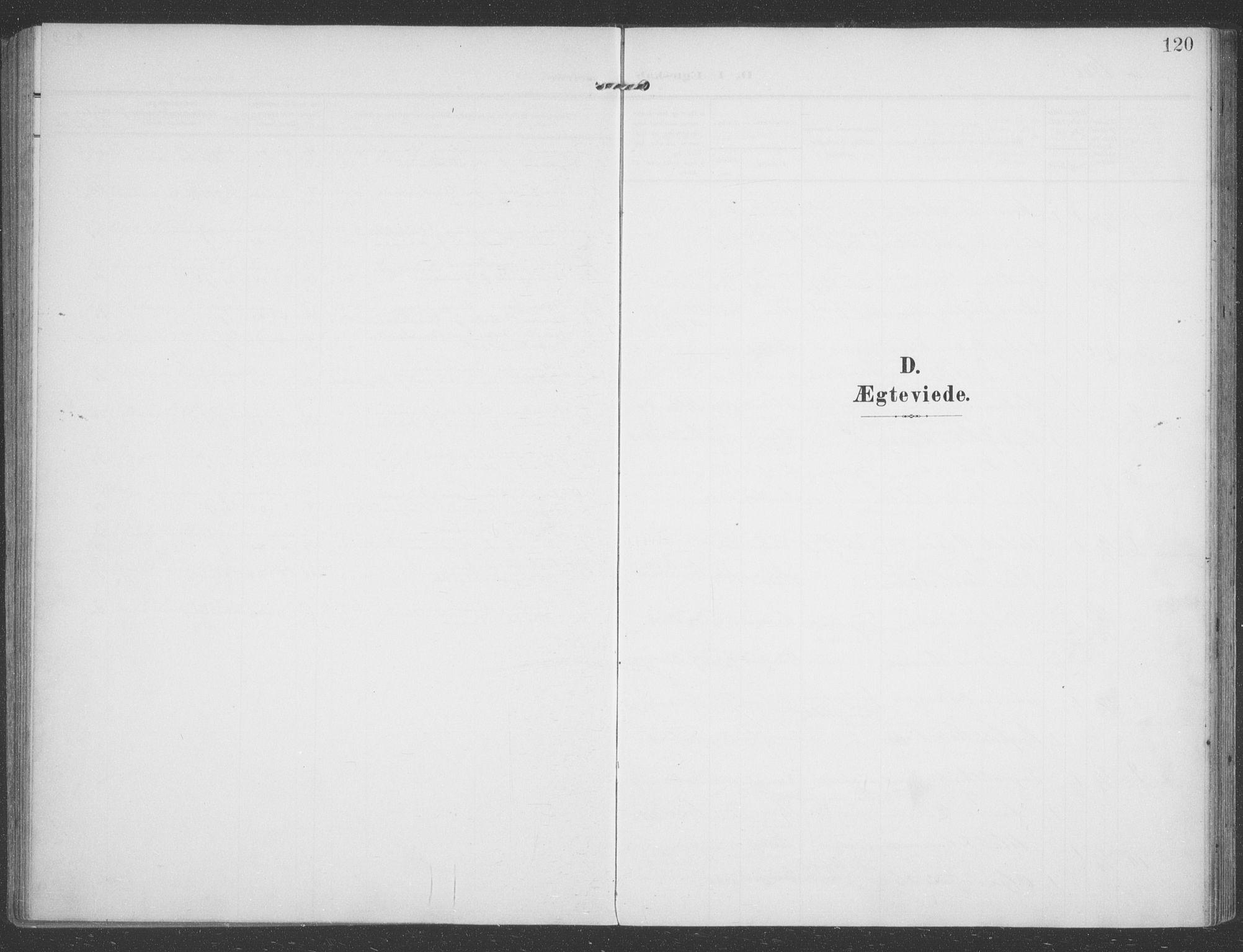 SATØ, Talvik sokneprestkontor, H/Ha/L0017kirke: Ministerialbok nr. 17, 1906-1915, s. 120