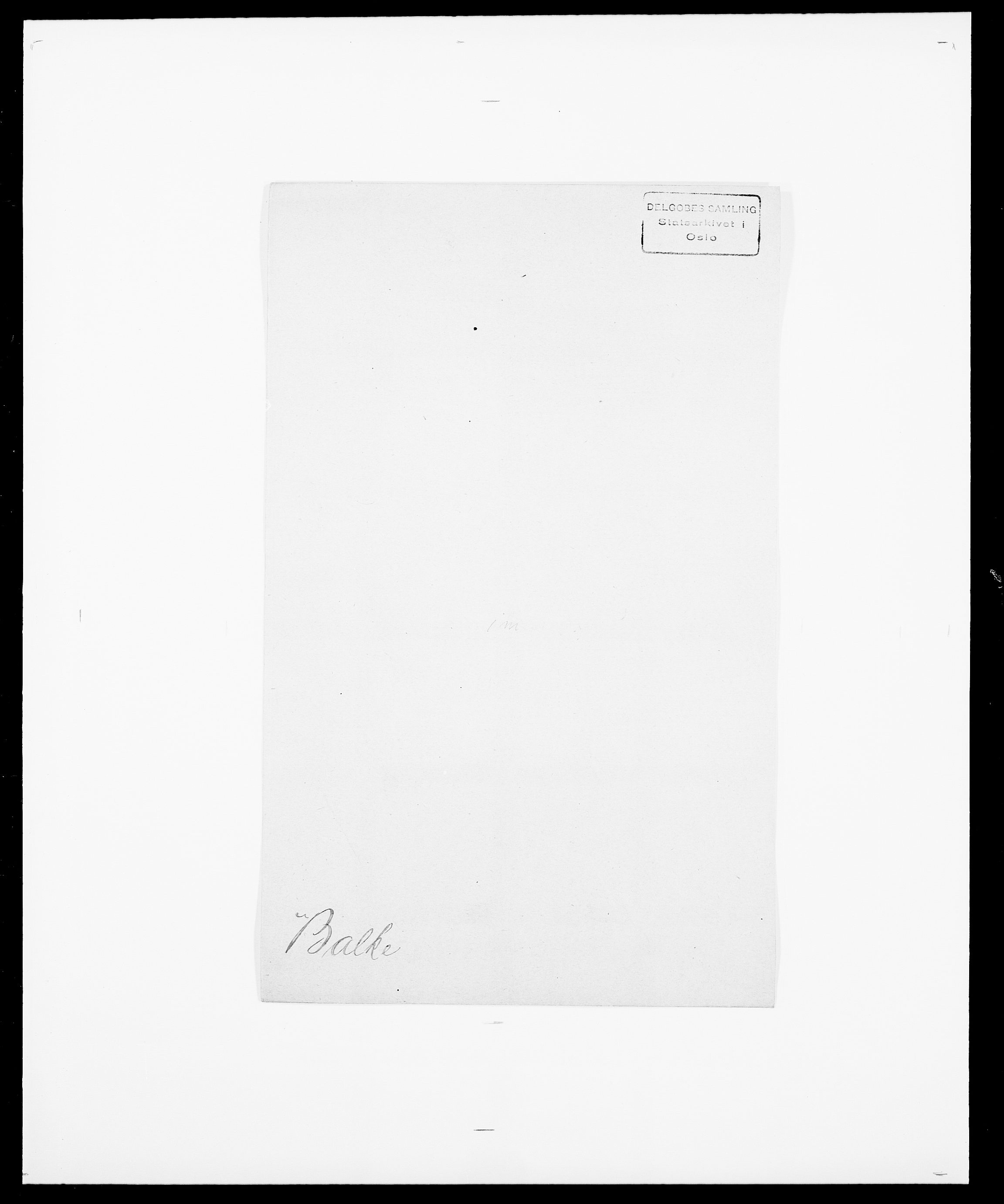 SAO, Delgobe, Charles Antoine - samling, D/Da/L0003: Barca - Bergen, s. 175