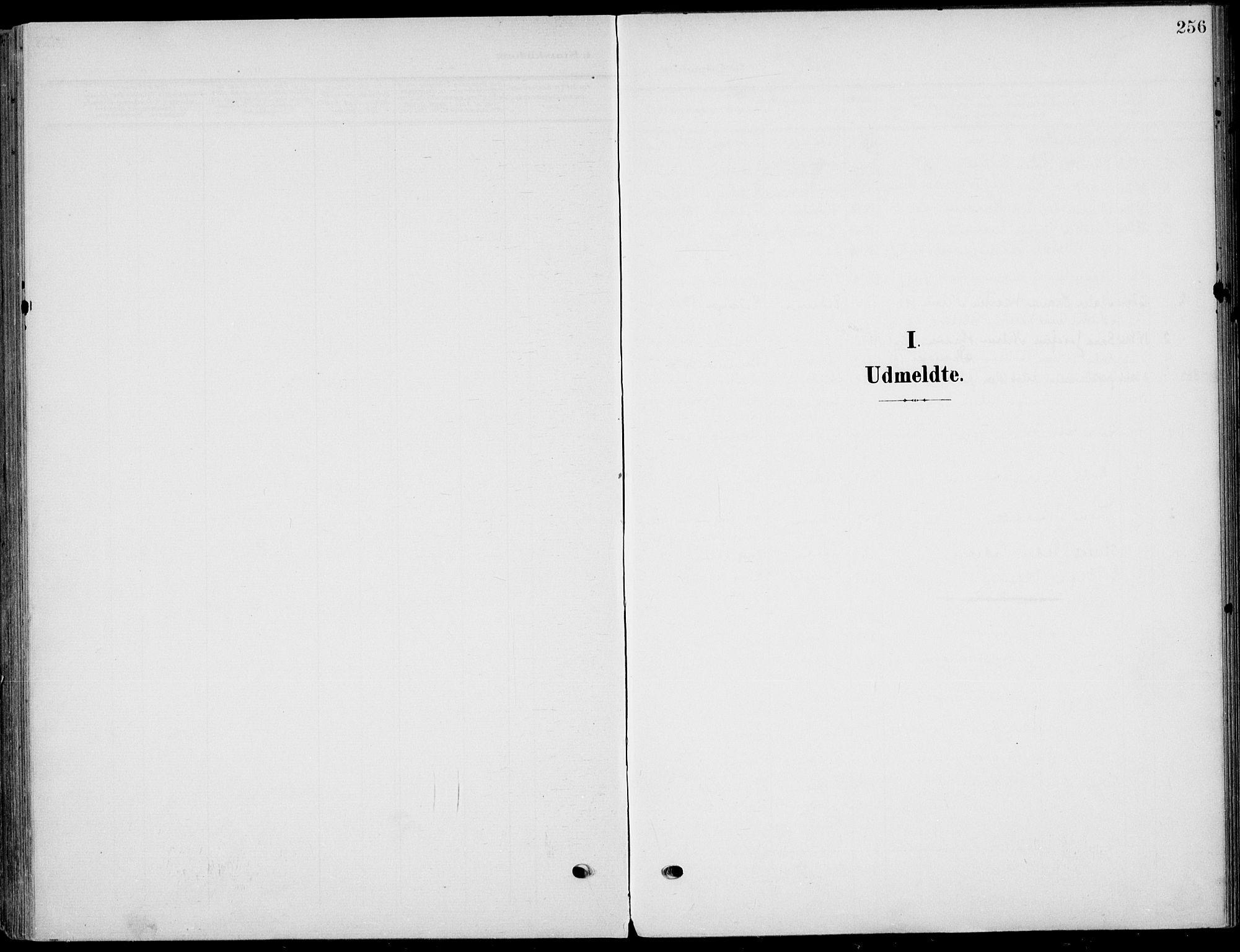 SAKO, Eidanger kirkebøker, F/Fa/L0013: Ministerialbok nr. 13, 1900-1913, s. 256