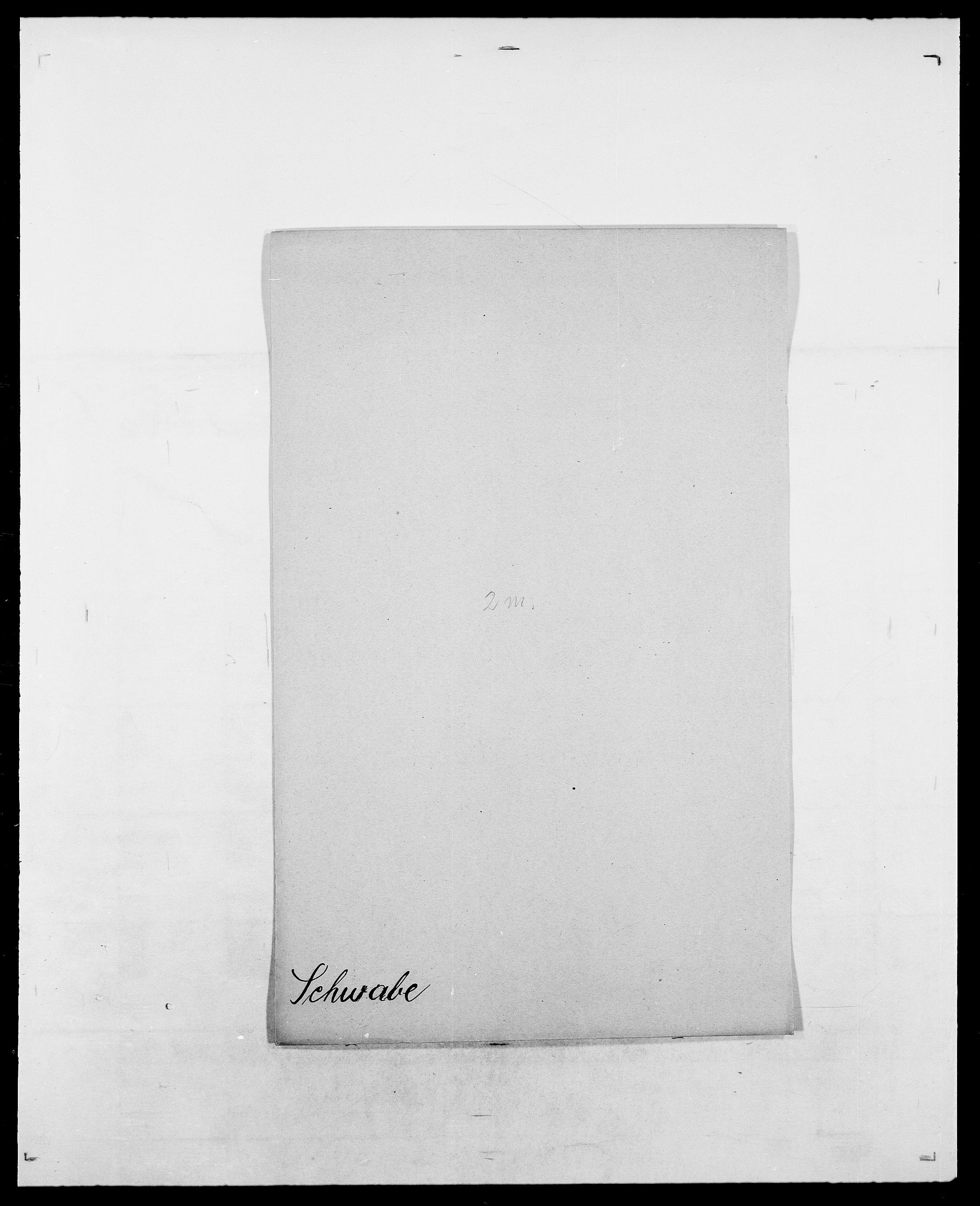 SAO, Delgobe, Charles Antoine - samling, D/Da/L0035: Schnabel - sjetman, s. 363