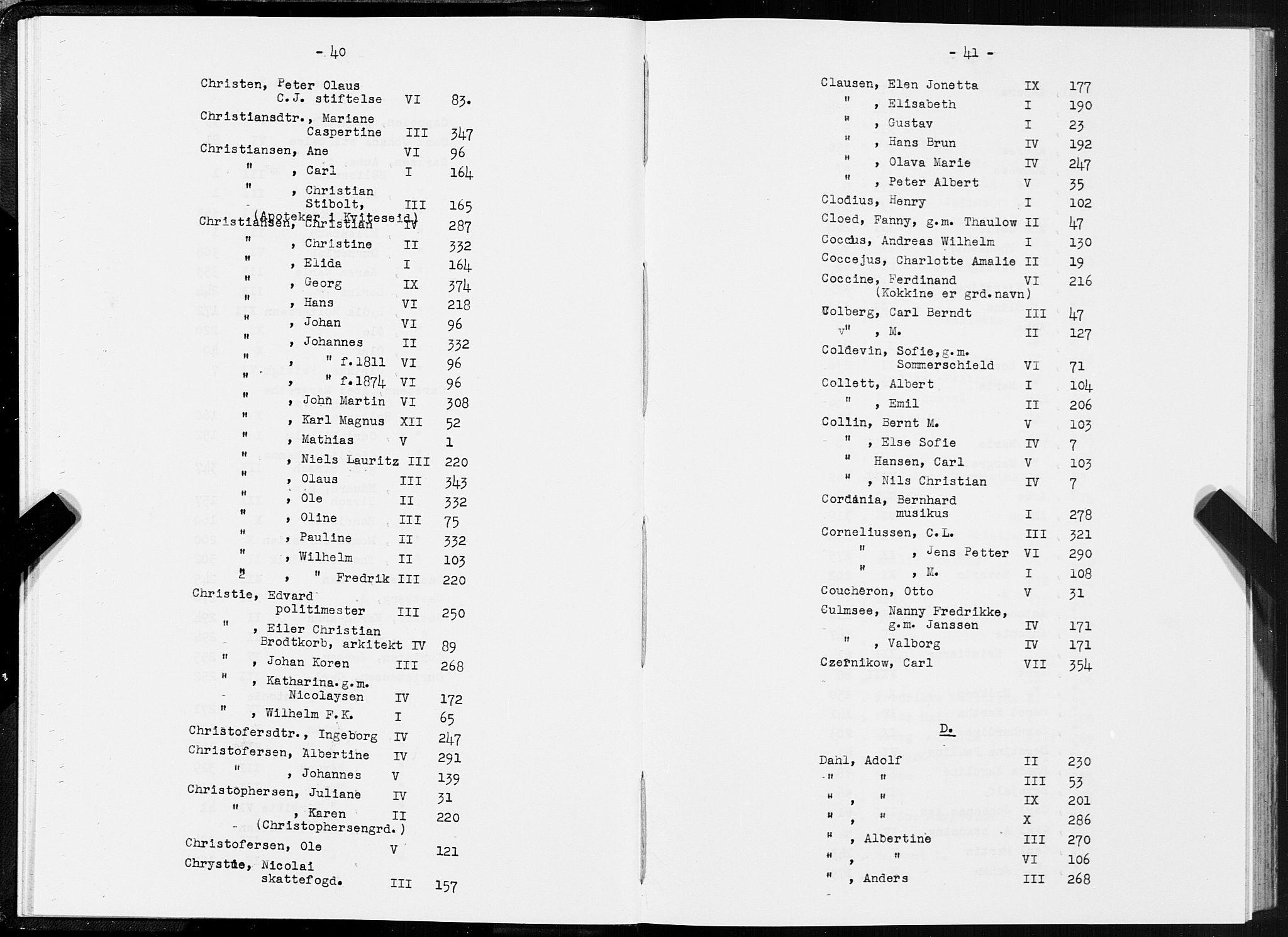 SAT, Folketelling 1875 for 1601 Trondheim kjøpstad, 1875, s. 40-41