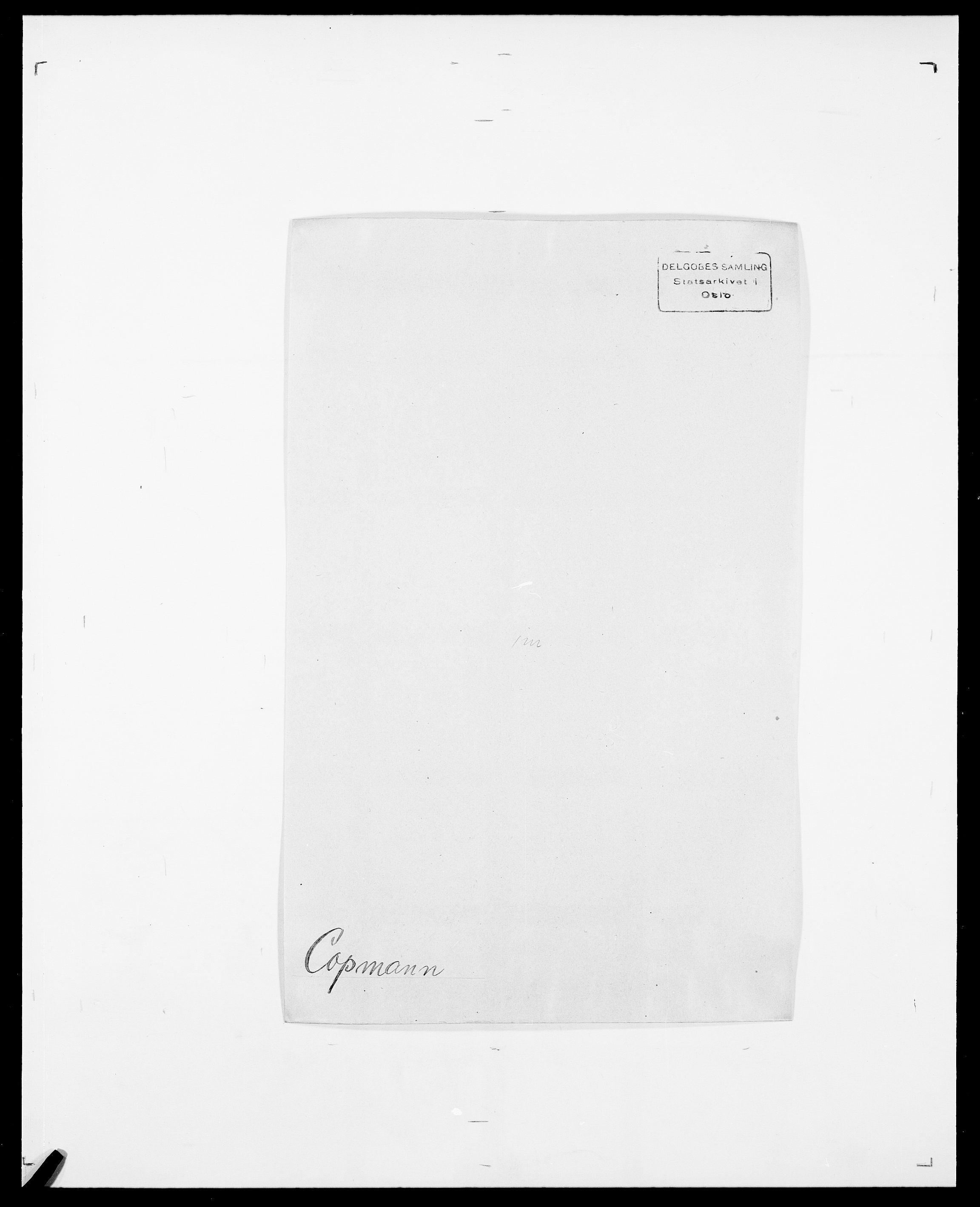 SAO, Delgobe, Charles Antoine - samling, D/Da/L0008: Capjon - Dagenbolt, s. 524