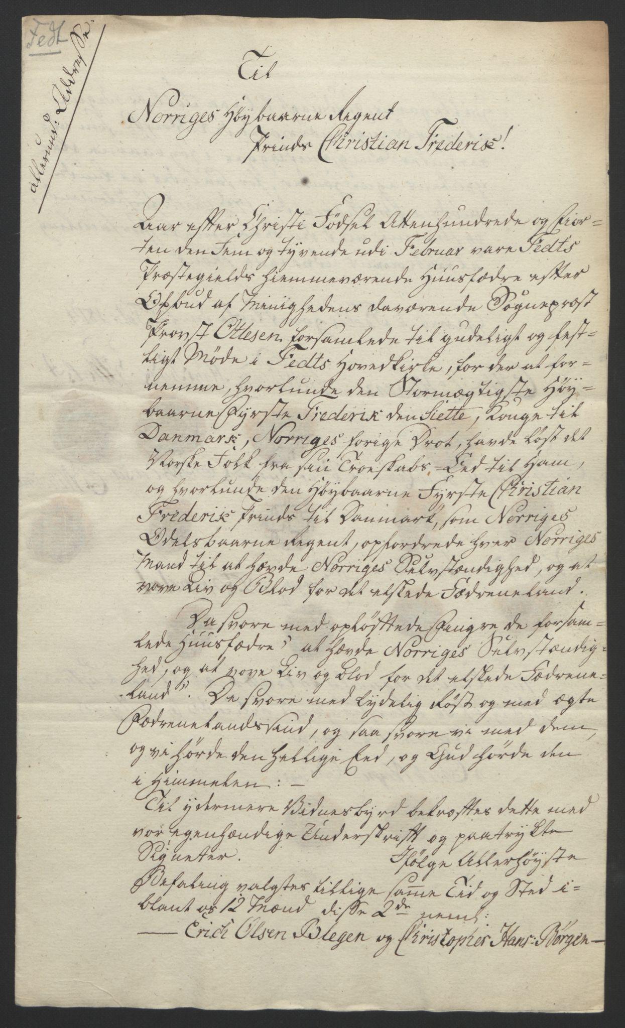 RA, Statsrådssekretariatet, D/Db/L0007: Fullmakter for Eidsvollsrepresentantene i 1814. , 1814, s. 183