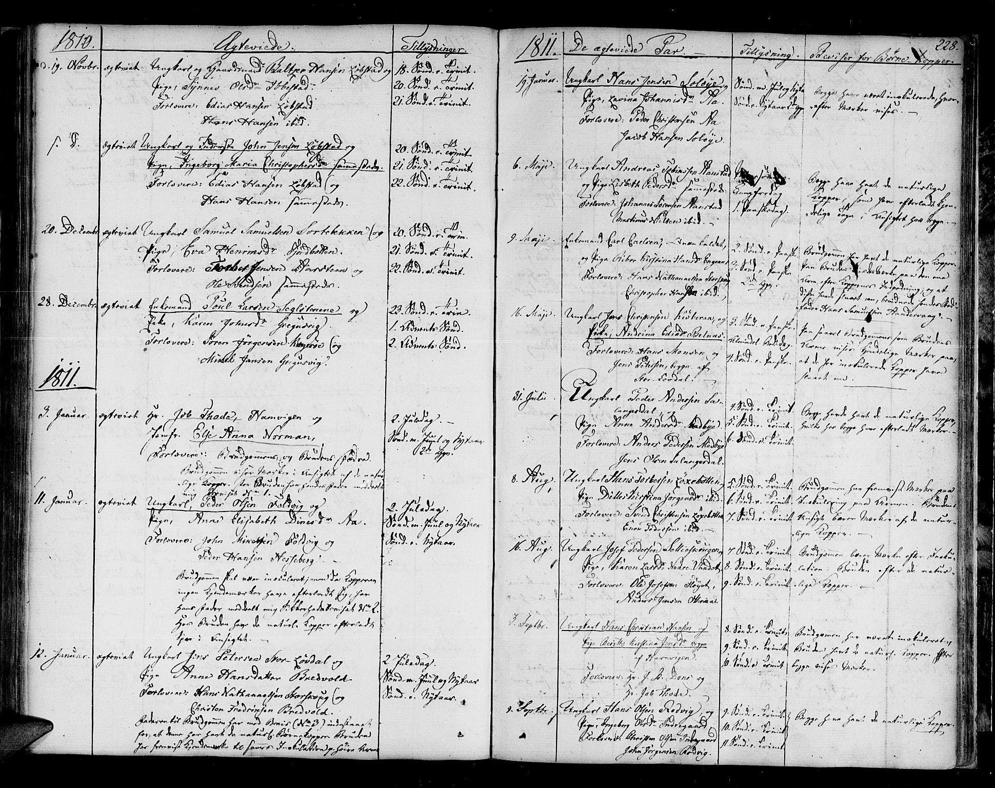 SATØ, Ibestad sokneprestembete, Ministerialbok nr. 4, 1801-1824, s. 228