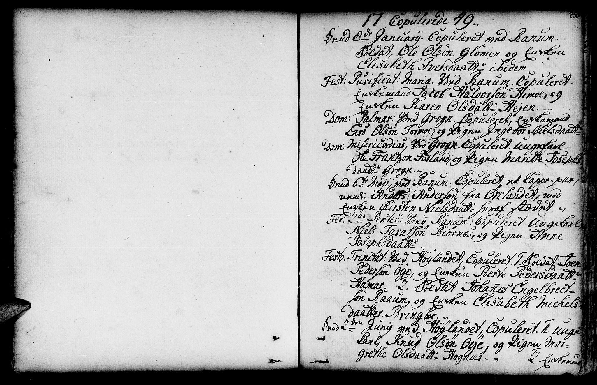 SAT, Ministerialprotokoller, klokkerbøker og fødselsregistre - Nord-Trøndelag, 764/L0542: Ministerialbok nr. 764A02, 1748-1779, s. 250