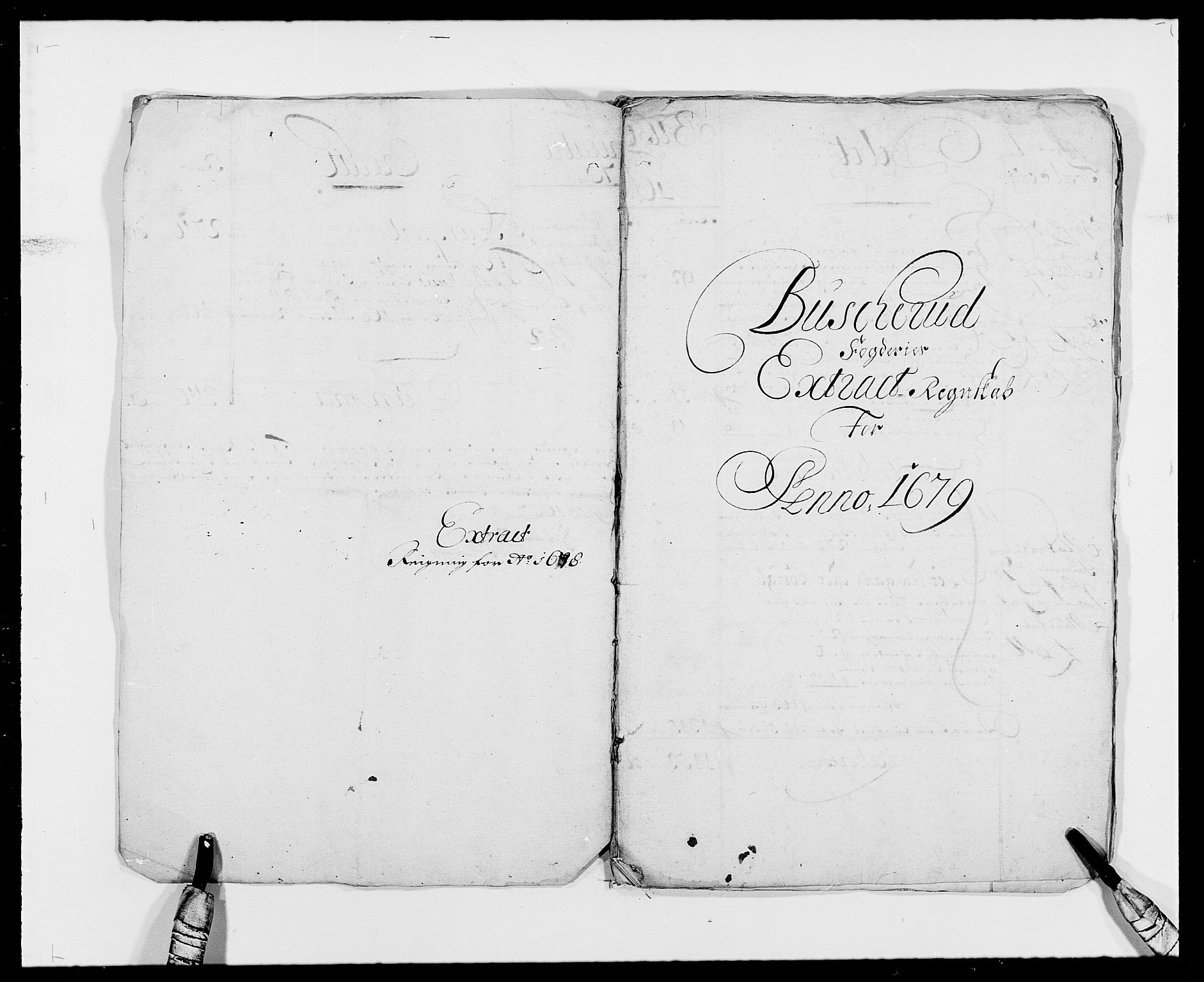 RA, Rentekammeret inntil 1814, Reviderte regnskaper, Fogderegnskap, R25/L1674: Fogderegnskap Buskerud, 1678-1681, s. 6