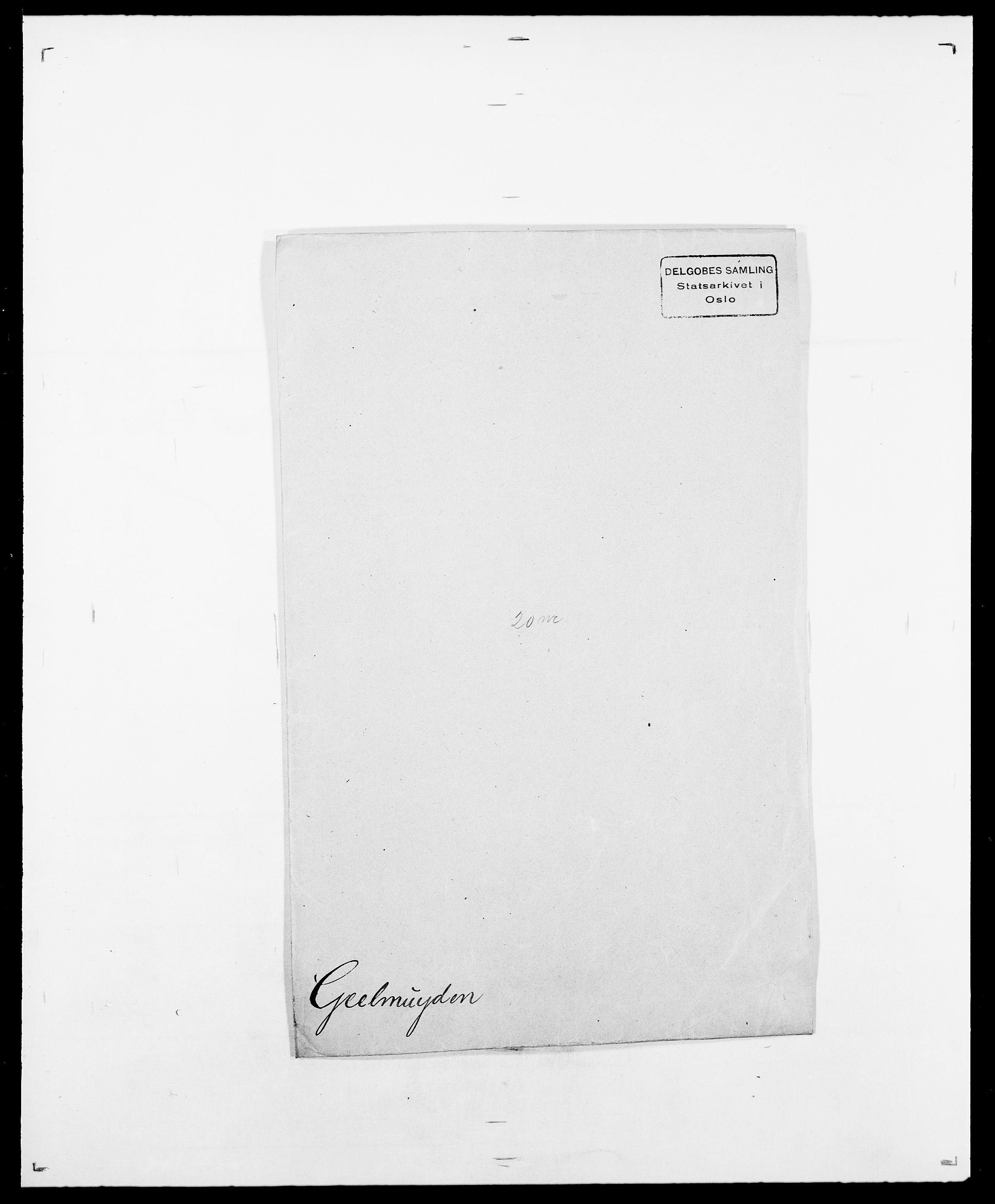 SAO, Delgobe, Charles Antoine - samling, D/Da/L0013: Forbos - Geving, s. 555