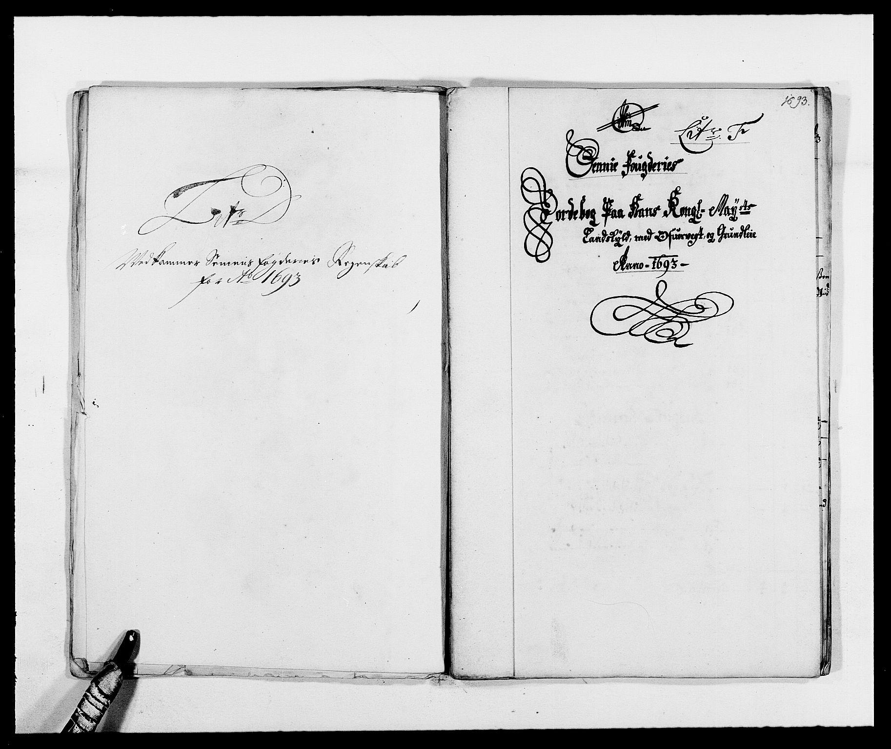 RA, Rentekammeret inntil 1814, Reviderte regnskaper, Fogderegnskap, R68/L4752: Fogderegnskap Senja og Troms, 1691-1693, s. 378