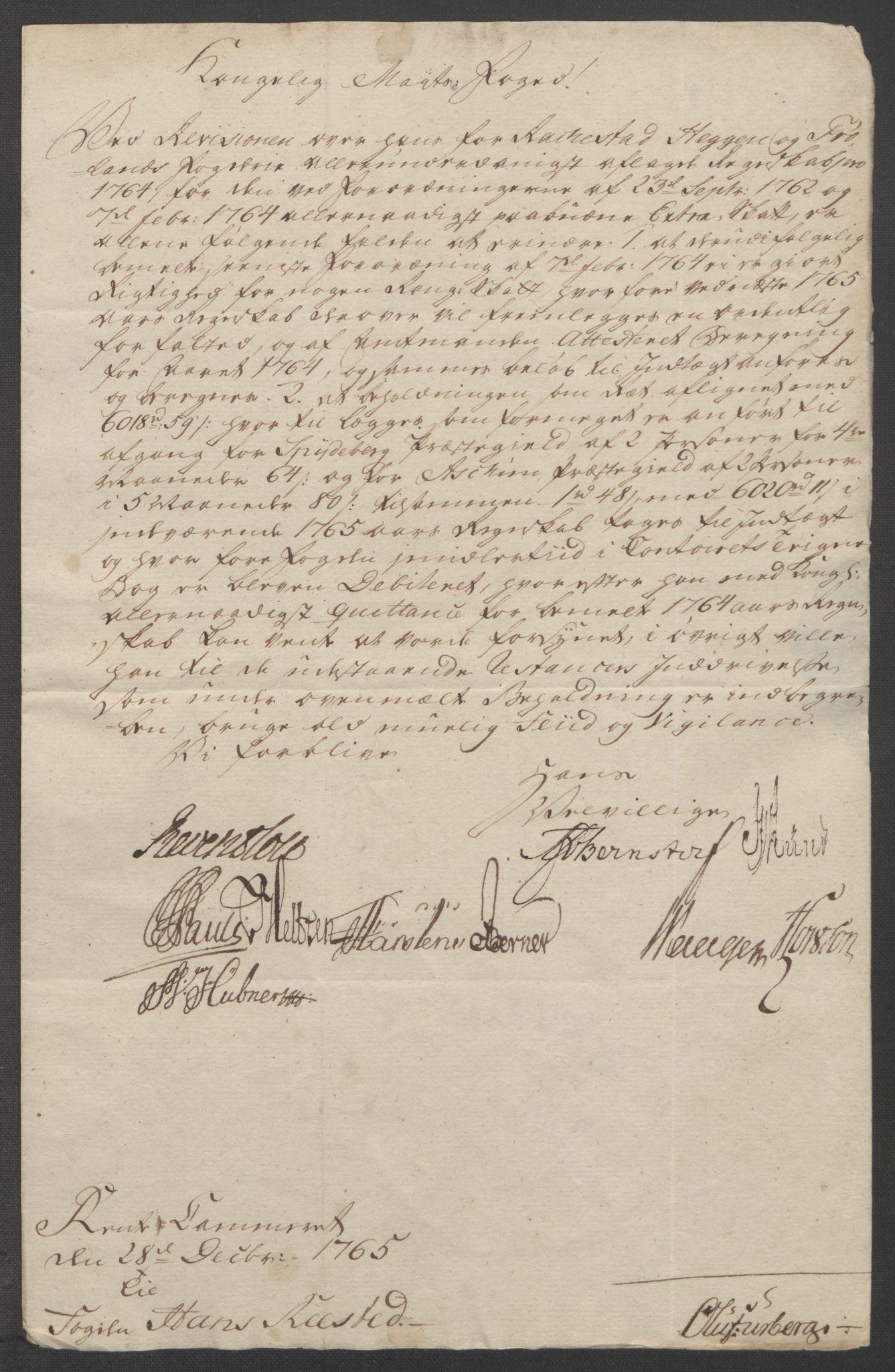 RA, Rentekammeret inntil 1814, Reviderte regnskaper, Fogderegnskap, R07/L0413: Ekstraskatten Rakkestad, Heggen og Frøland, 1762-1772, s. 303