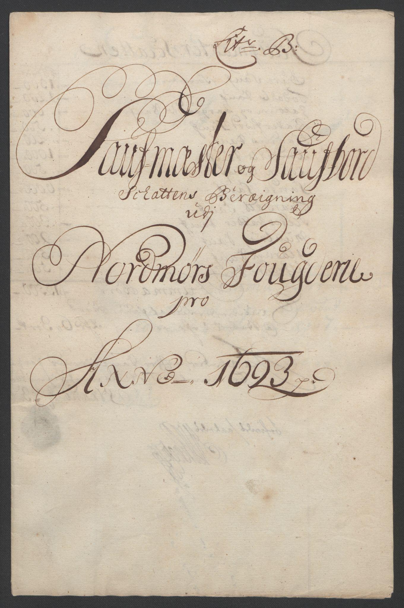RA, Rentekammeret inntil 1814, Reviderte regnskaper, Fogderegnskap, R56/L3735: Fogderegnskap Nordmøre, 1692-1693, s. 334