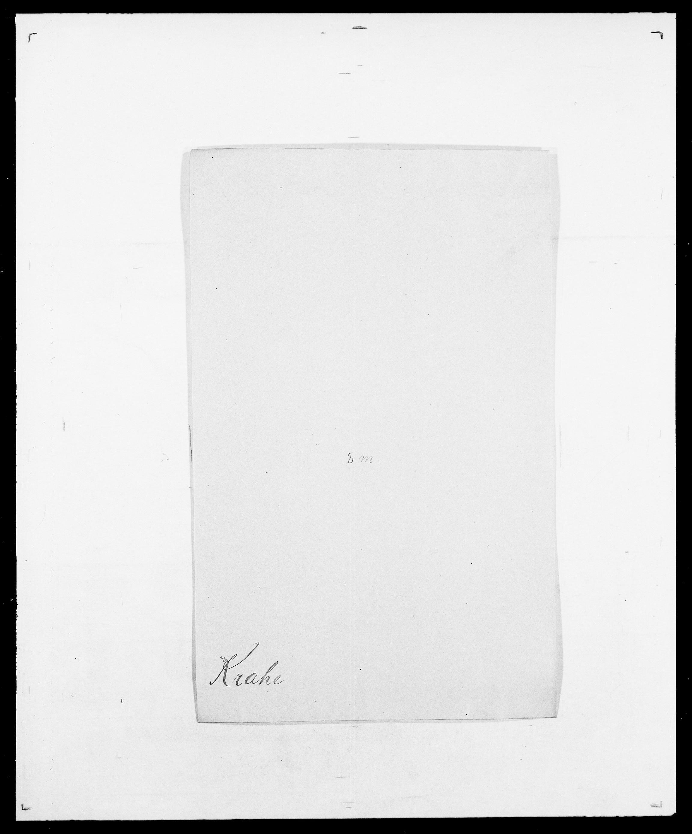 SAO, Delgobe, Charles Antoine - samling, D/Da/L0021: Klagenberg - Kristoft, s. 715