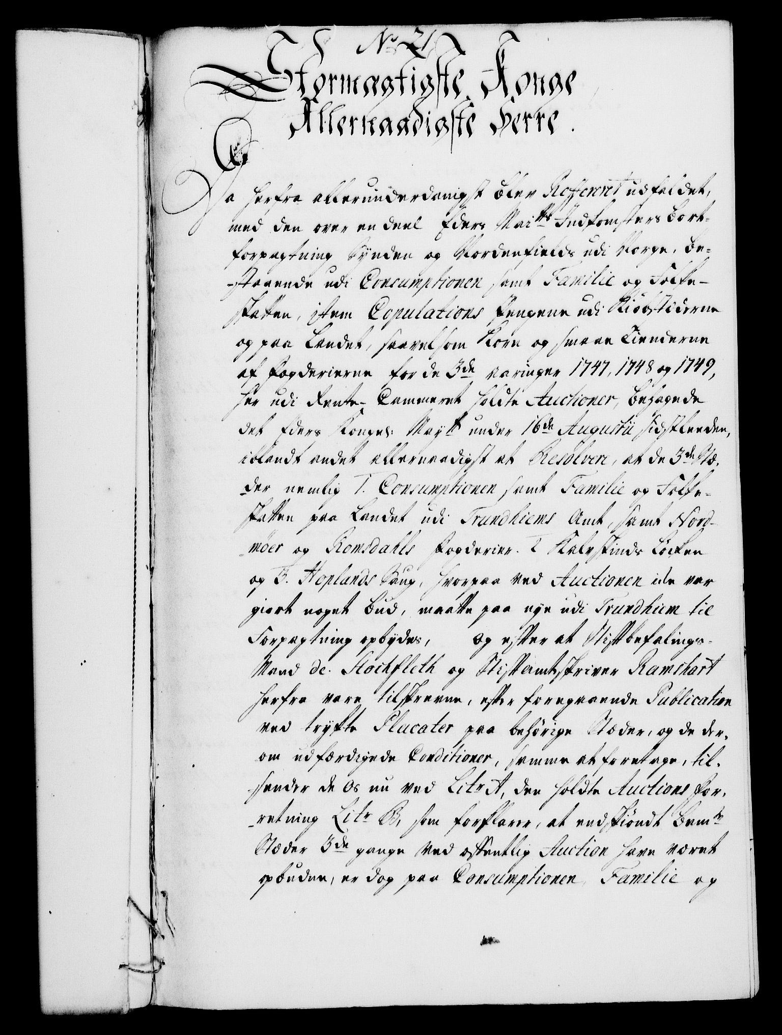 RA, Rentekammeret, Kammerkanselliet, G/Gf/Gfa/L0029: Norsk relasjons- og resolusjonsprotokoll (merket RK 52.29), 1746-1747, s. 137