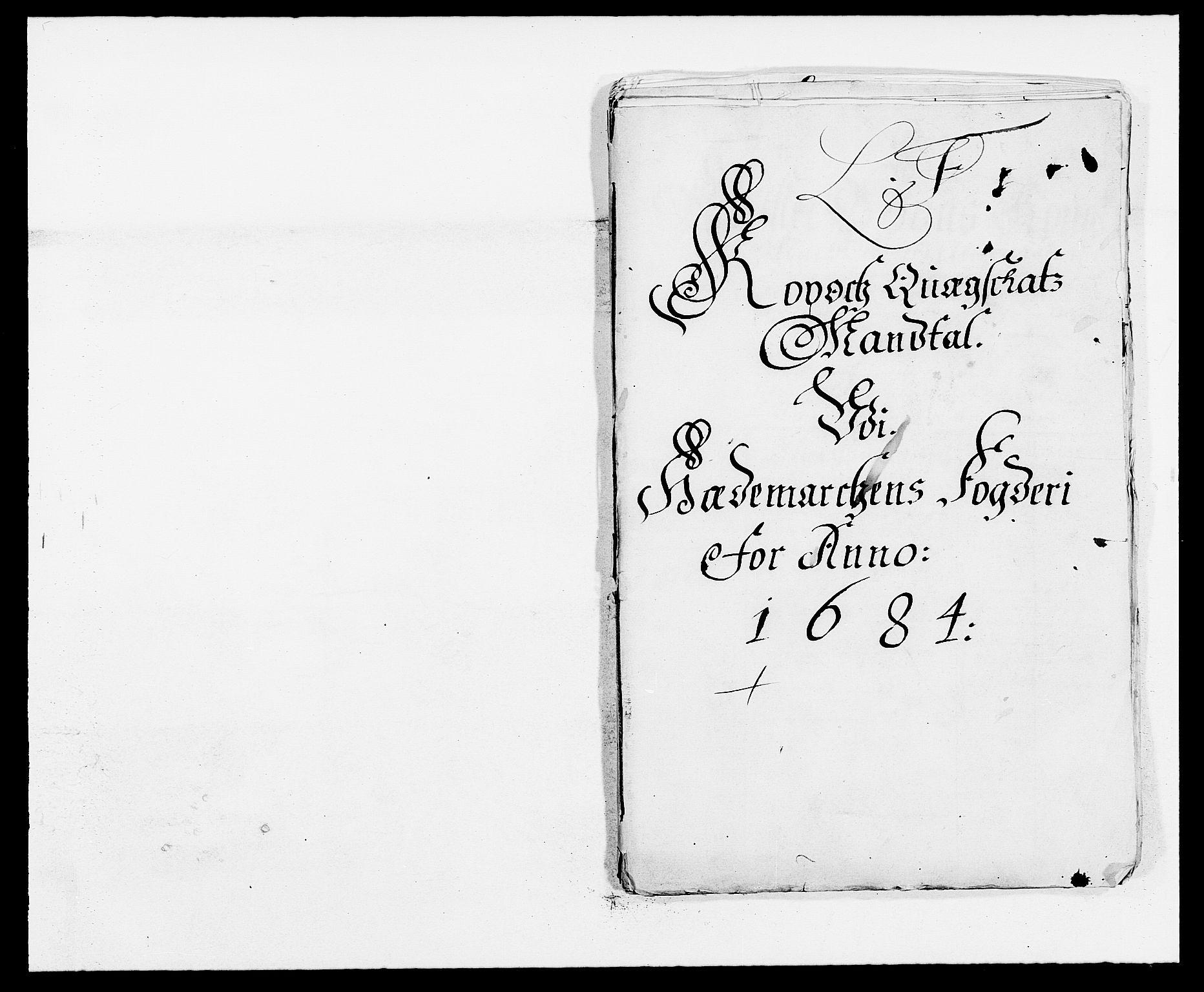 RA, Rentekammeret inntil 1814, Reviderte regnskaper, Fogderegnskap, R16/L1025: Fogderegnskap Hedmark, 1684, s. 307
