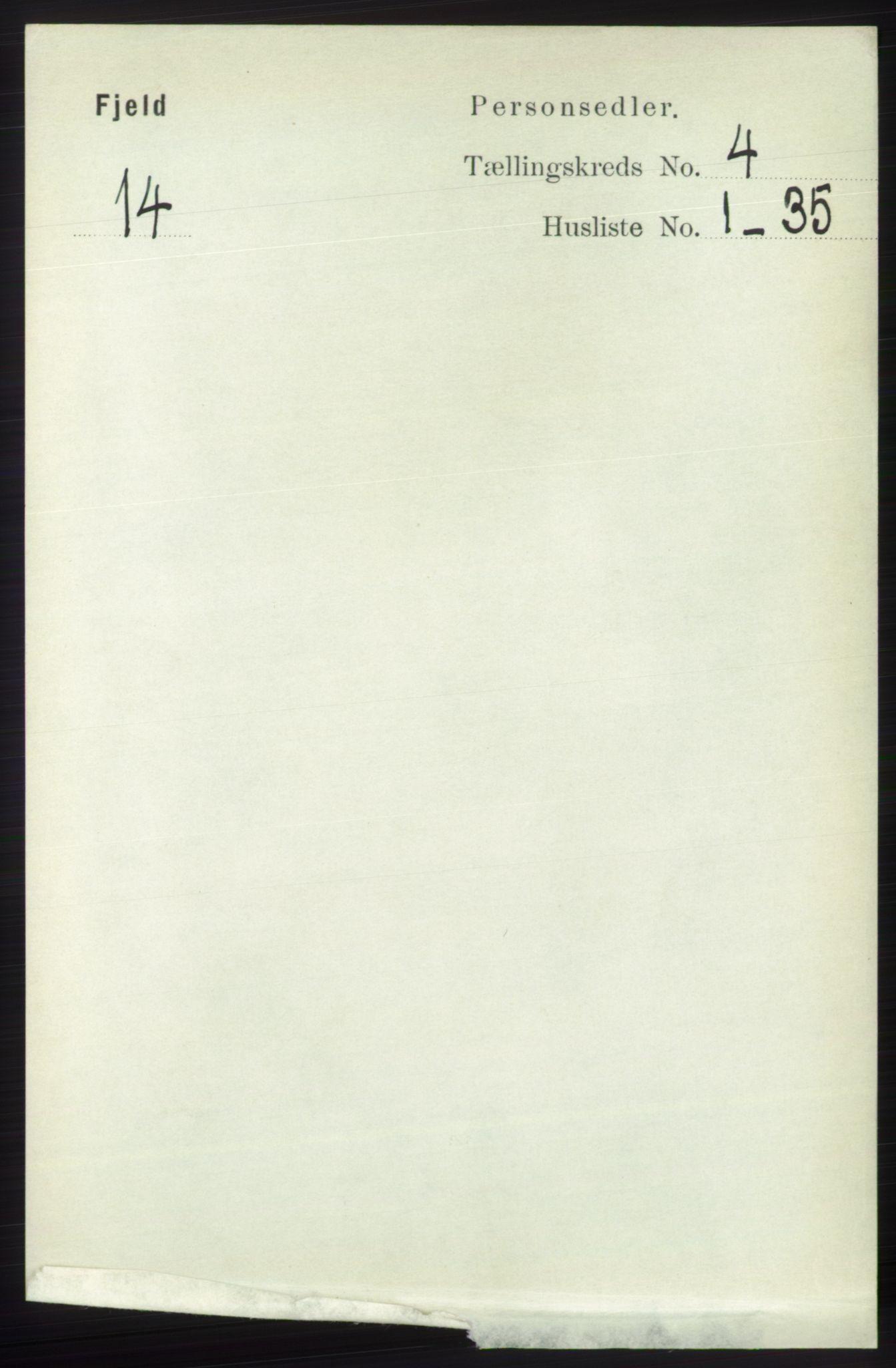 RA, Folketelling 1891 for 1246 Fjell herred, 1891, s. 2024