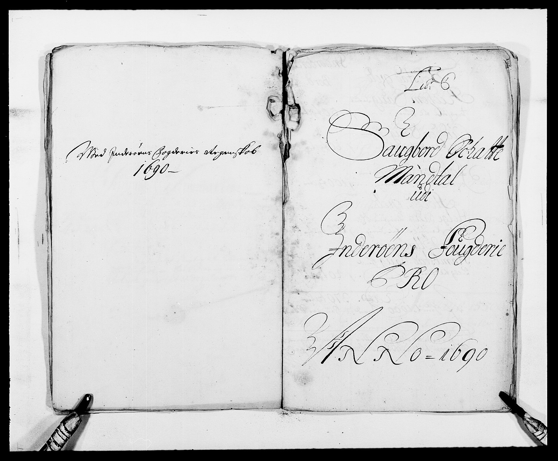 RA, Rentekammeret inntil 1814, Reviderte regnskaper, Fogderegnskap, R63/L4307: Fogderegnskap Inderøy, 1690-1691, s. 74