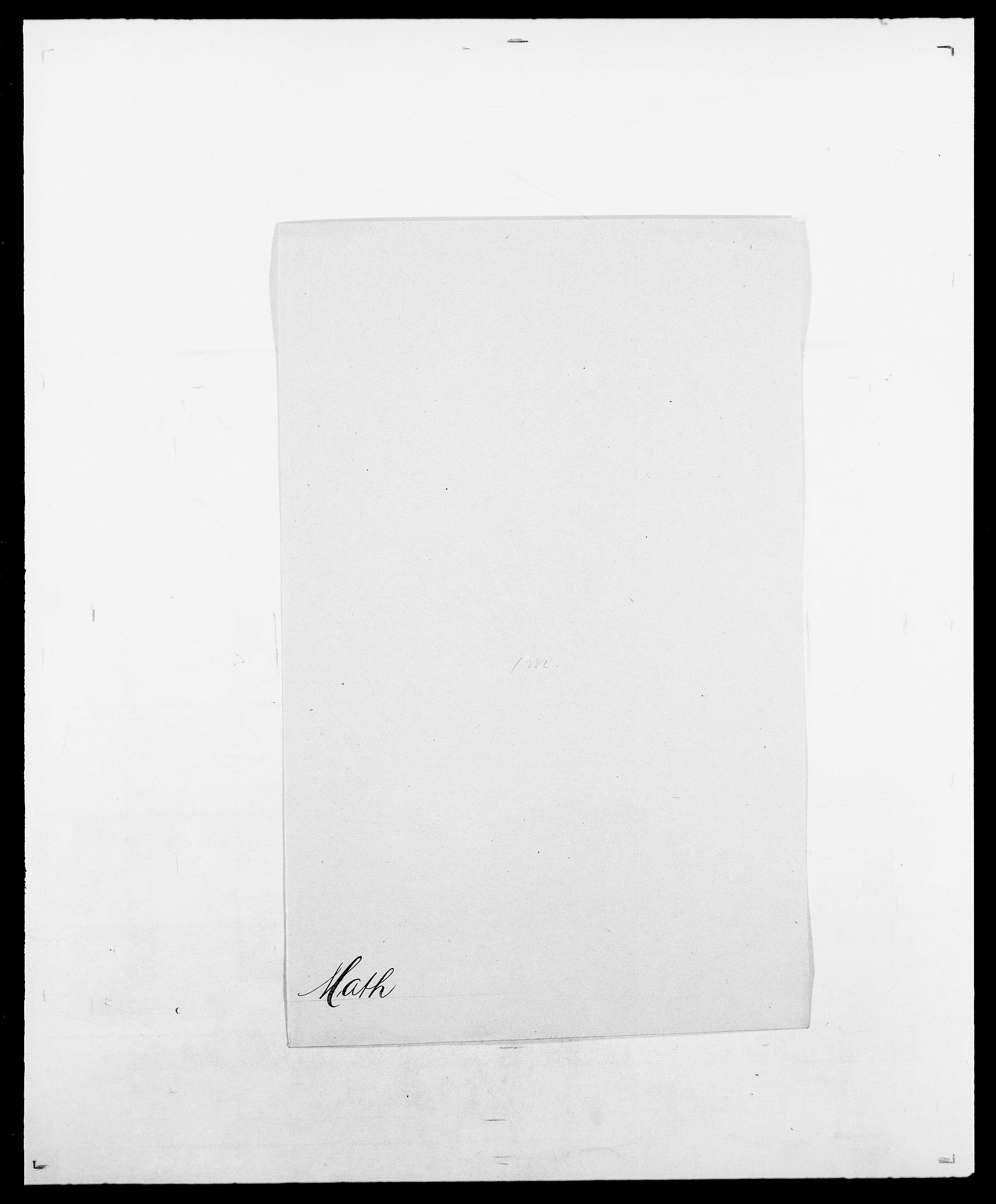 SAO, Delgobe, Charles Antoine - samling, D/Da/L0025: Løberg - Mazar, s. 510