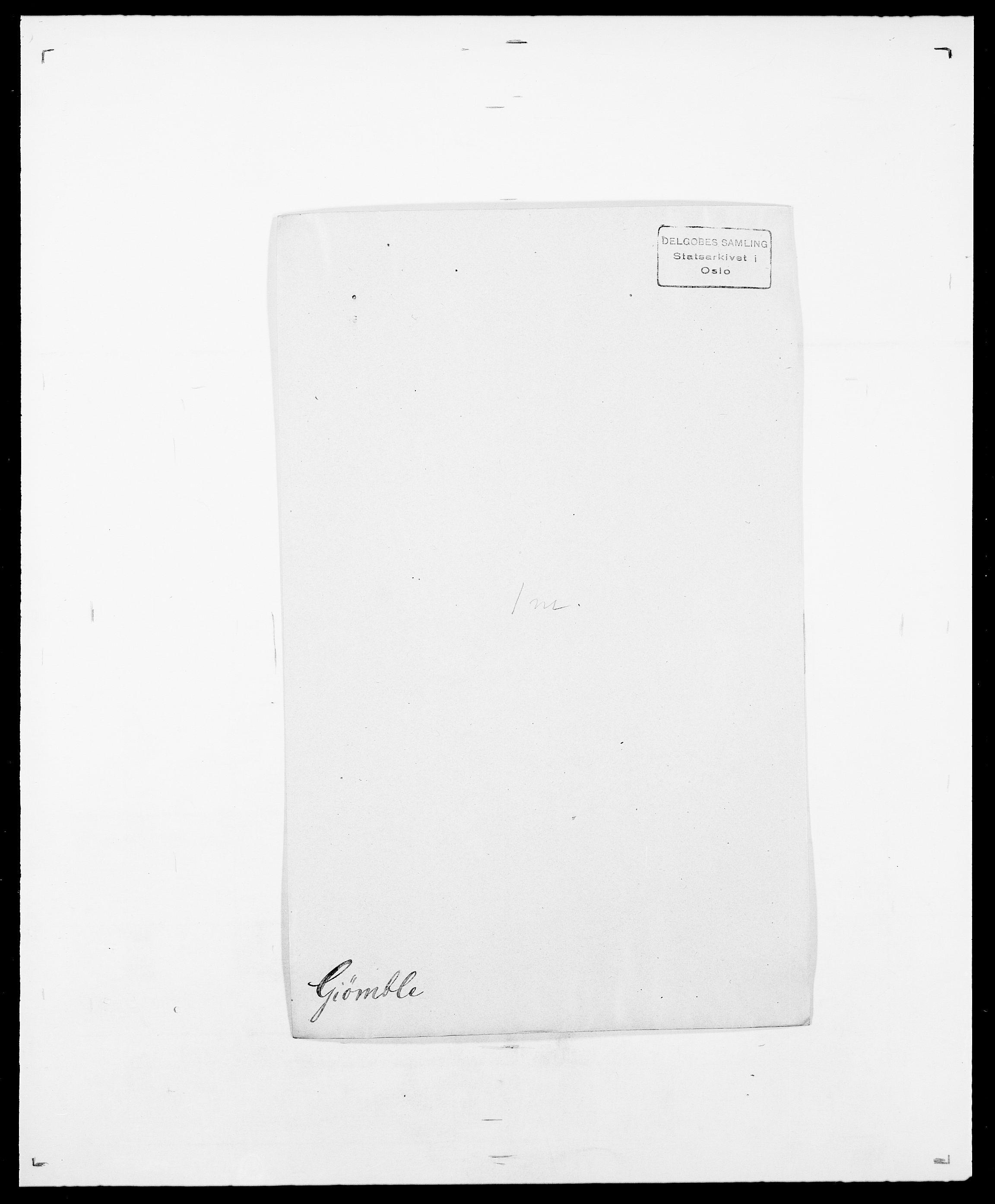 SAO, Delgobe, Charles Antoine - samling, D/Da/L0014: Giebdhausen - Grip, s. 65