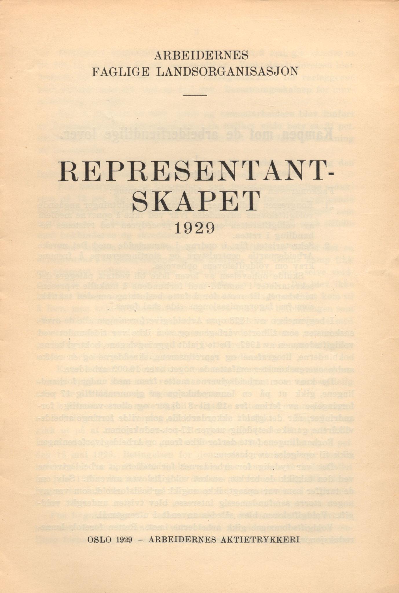 AAB, Landsorganisasjonen i Norge, 1911-1953, s. 34