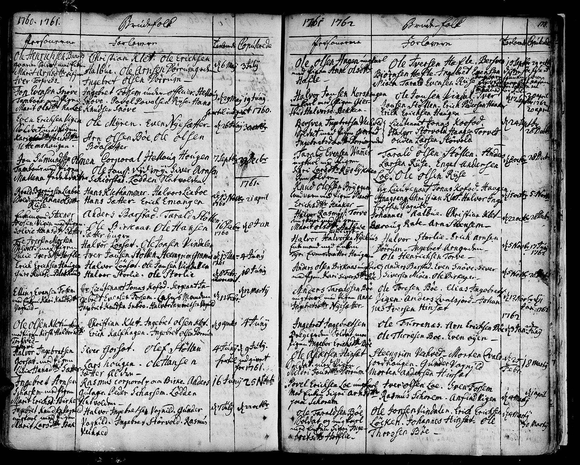 SAT, Ministerialprotokoller, klokkerbøker og fødselsregistre - Sør-Trøndelag, 678/L0891: Ministerialbok nr. 678A01, 1739-1780, s. 178
