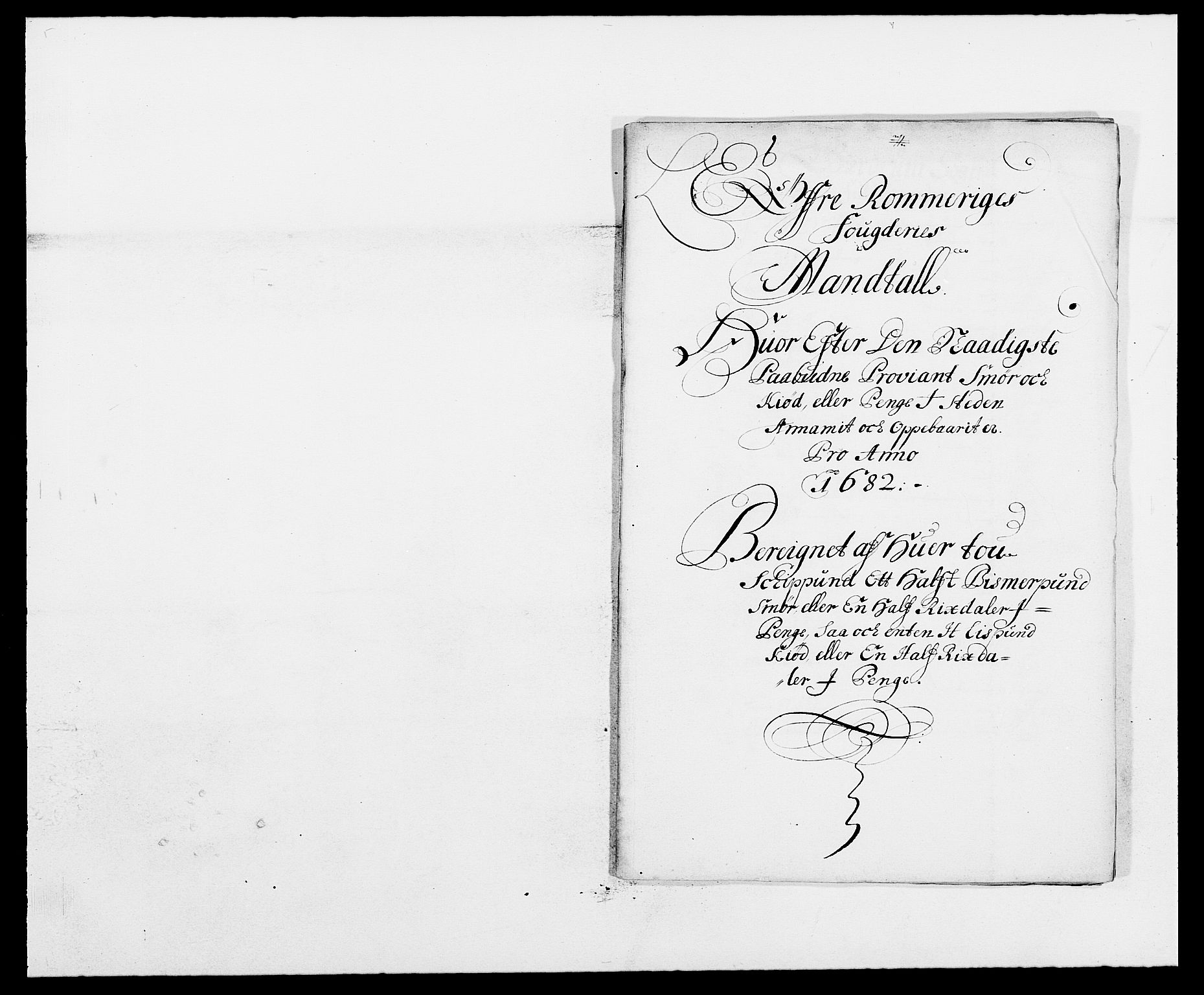 RA, Rentekammeret inntil 1814, Reviderte regnskaper, Fogderegnskap, R12/L0697: Fogderegnskap Øvre Romerike, 1682-1683, s. 162