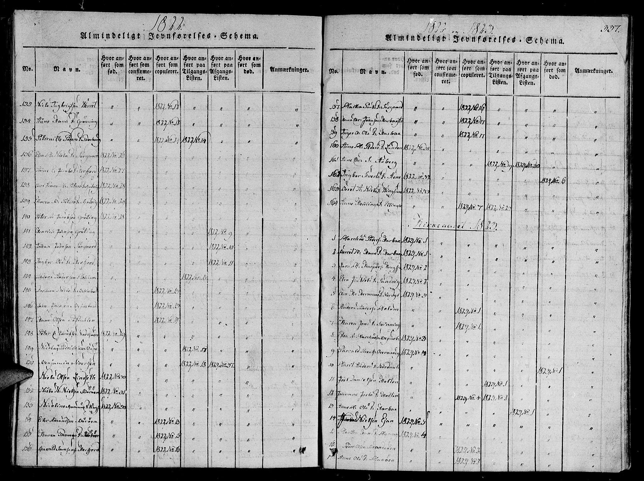 SAT, Ministerialprotokoller, klokkerbøker og fødselsregistre - Sør-Trøndelag, 657/L0702: Ministerialbok nr. 657A03, 1818-1831, s. 337