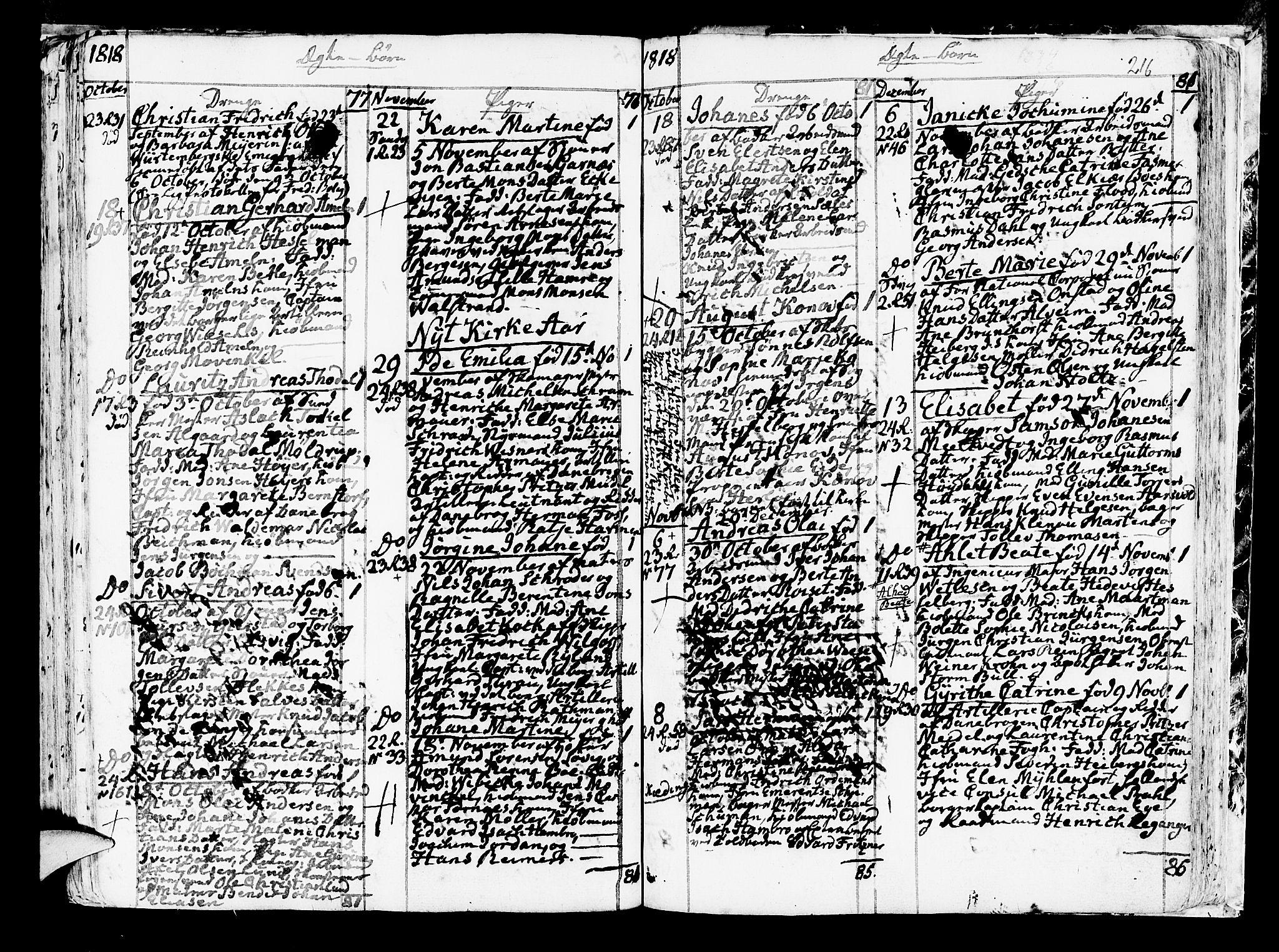 SAB, Korskirken Sokneprestembete, H/Haa/L0006: Ministerialbok nr. A 6, 1790-1820, s. 216
