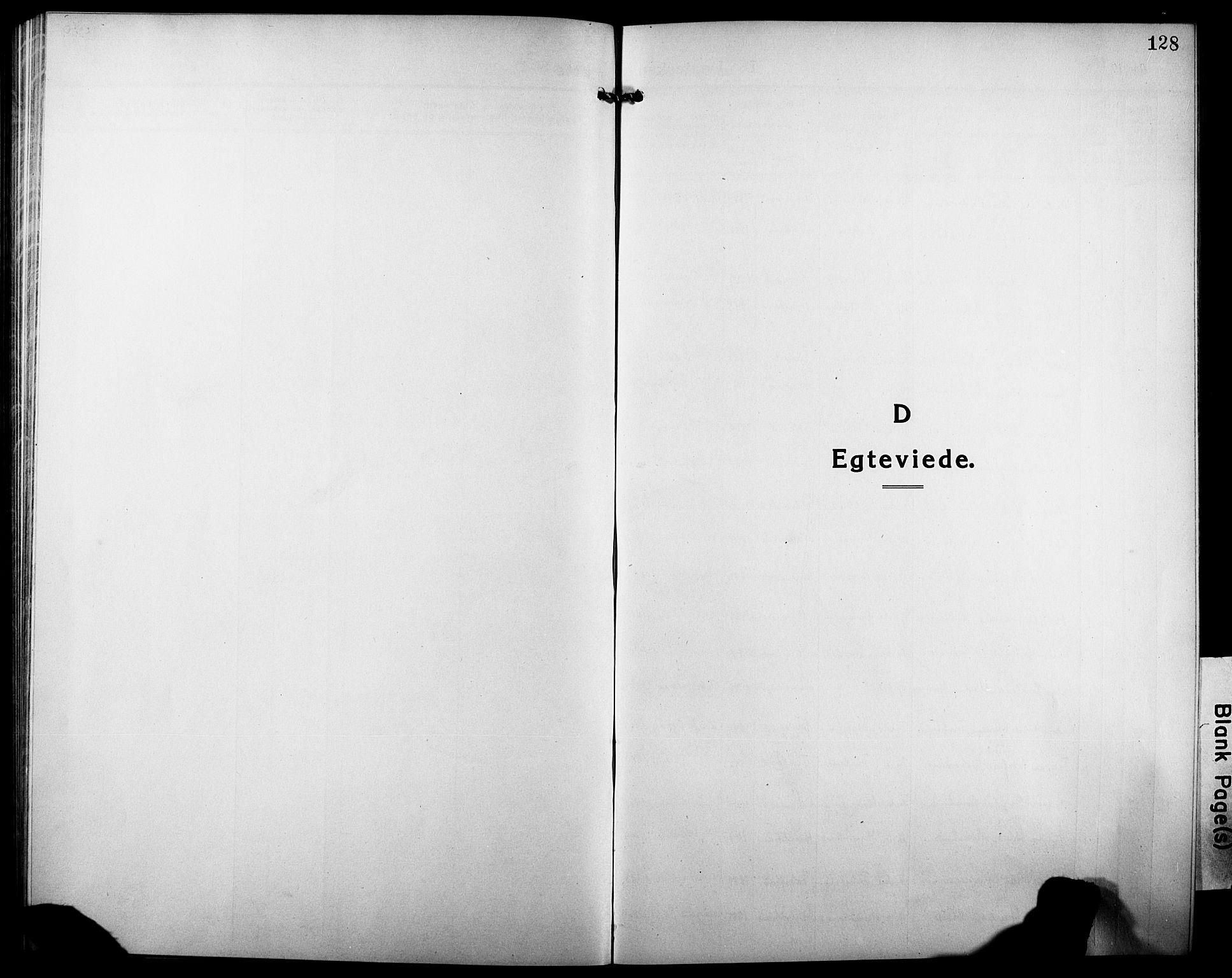 SATØ, Tranøy sokneprestkontor, I/Ia/Iab/L0006klokker: Klokkerbok nr. 6, 1919-1932, s. 128