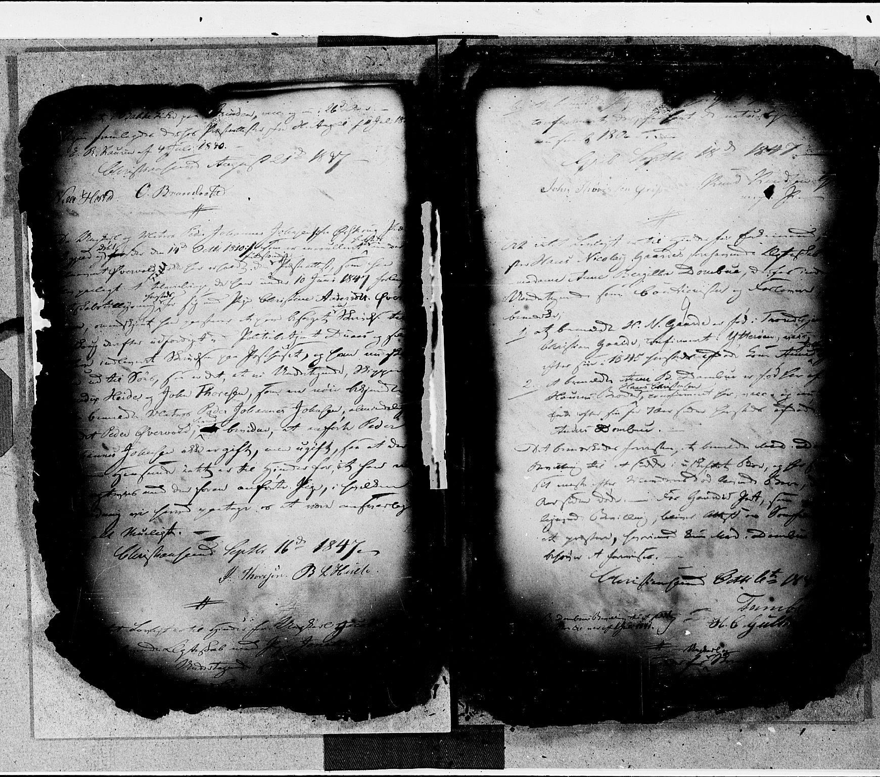 SAT, Arkivreferanse ukjent*, Forlovererklæringer nr. 16, 1846-1855, s. 9
