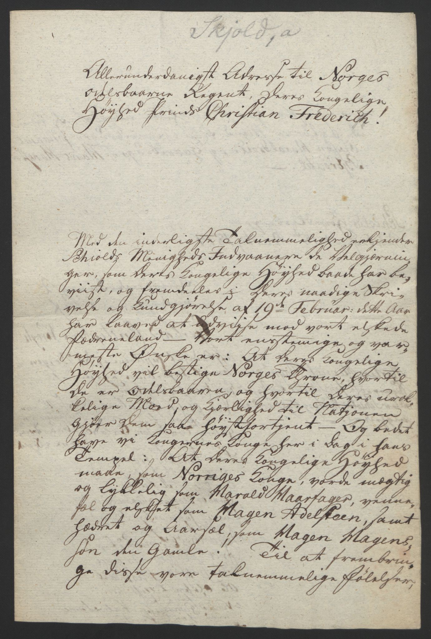 RA, Statsrådssekretariatet, D/Db/L0008: Fullmakter for Eidsvollsrepresentantene i 1814. , 1814, s. 239