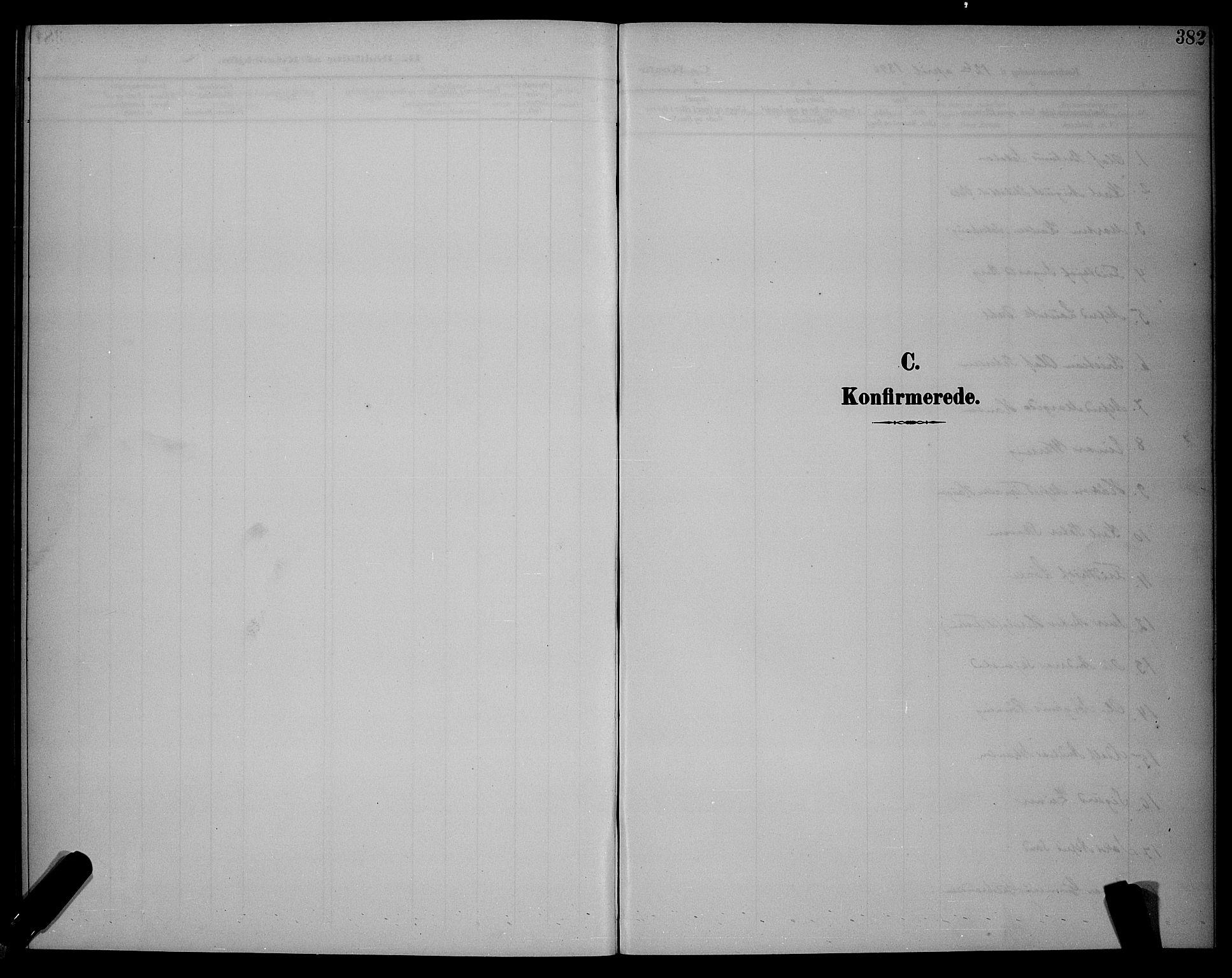 SAT, Ministerialprotokoller, klokkerbøker og fødselsregistre - Sør-Trøndelag, 604/L0225: Klokkerbok nr. 604C08, 1895-1899, s. 382