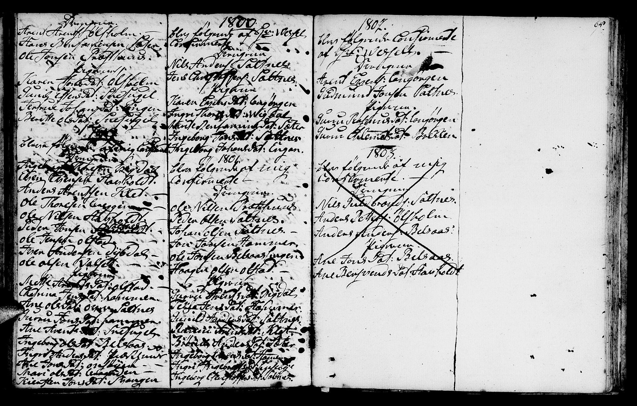 SAT, Ministerialprotokoller, klokkerbøker og fødselsregistre - Sør-Trøndelag, 666/L0784: Ministerialbok nr. 666A02, 1754-1802, s. 64
