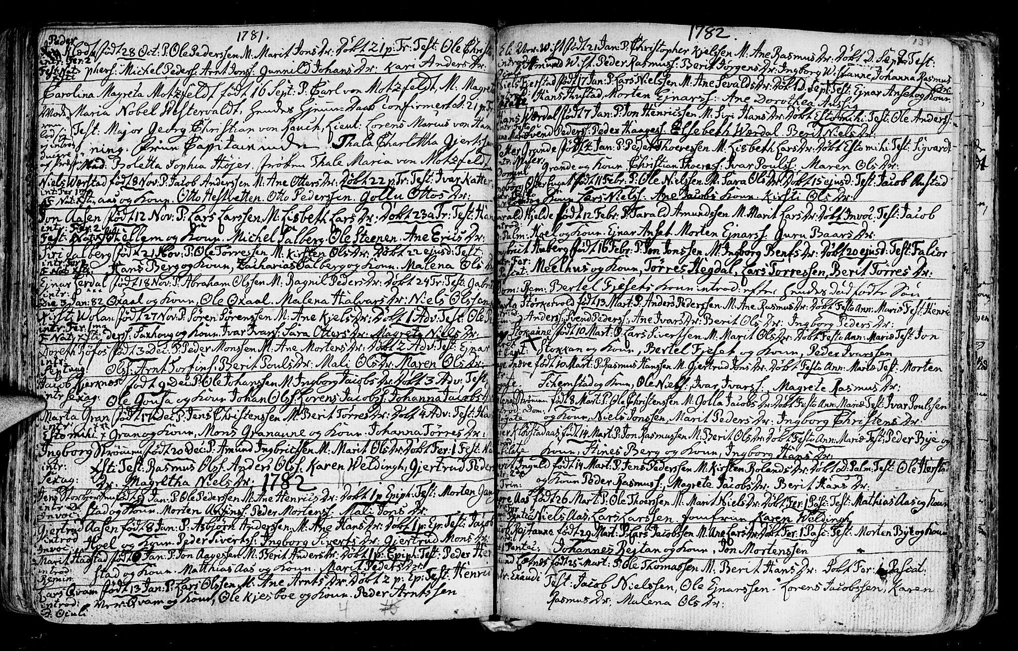 SAT, Ministerialprotokoller, klokkerbøker og fødselsregistre - Nord-Trøndelag, 730/L0273: Ministerialbok nr. 730A02, 1762-1802, s. 134